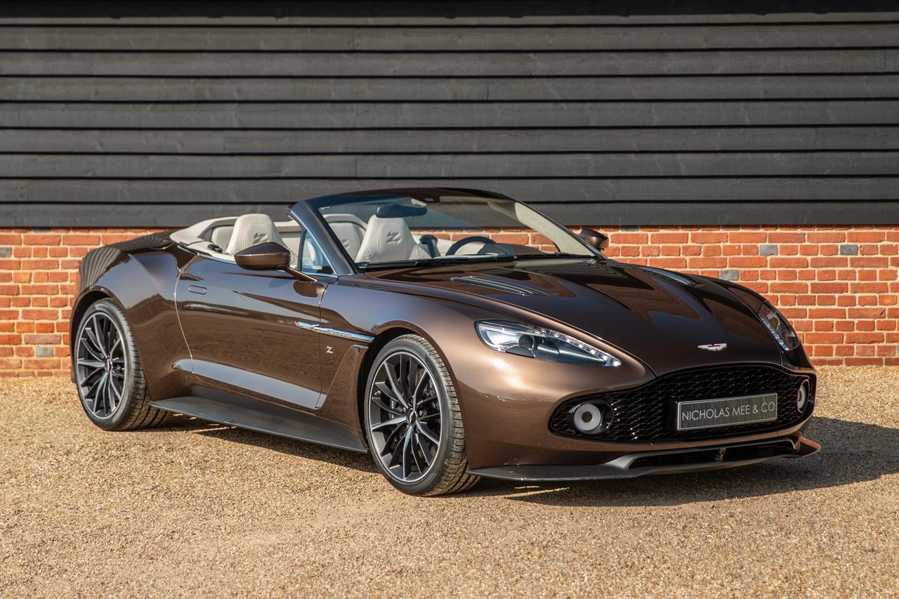 2018 Aston Martin Vanquish Zagato Volante Classic Driver Market