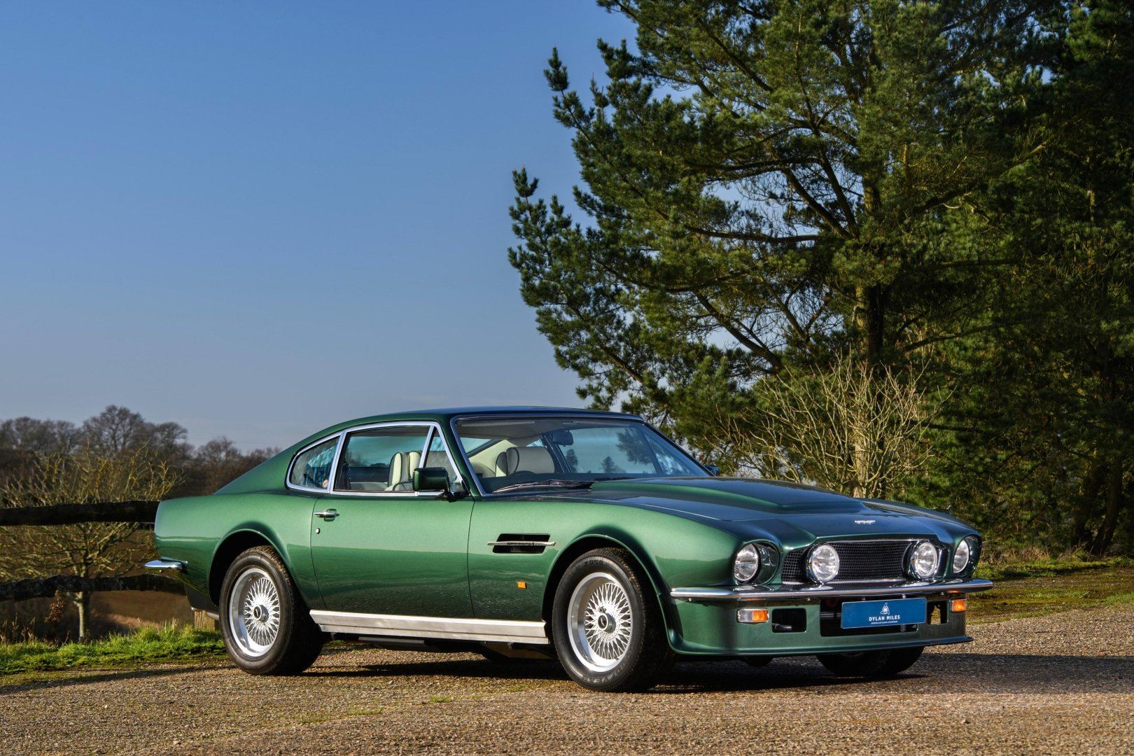 1989 Aston Martin V8 Vantage X Pack Coupe 16 500 Miles Two Owners From New Classic Driver Market