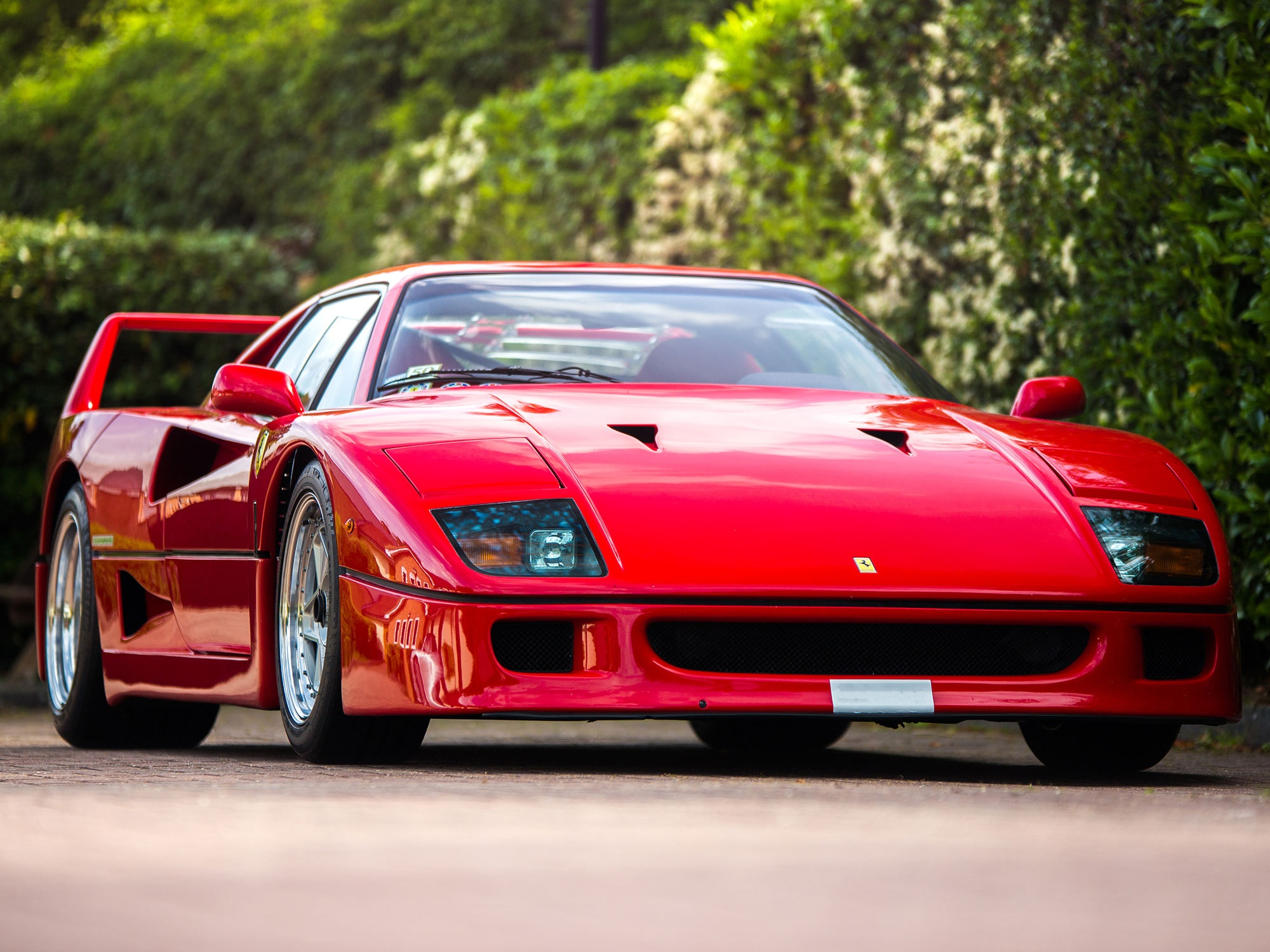 Ferrari F40 Price >> 1988 Ferrari F40 - Non-cat non-adjust sliding window euro spec | Classic Driver Market