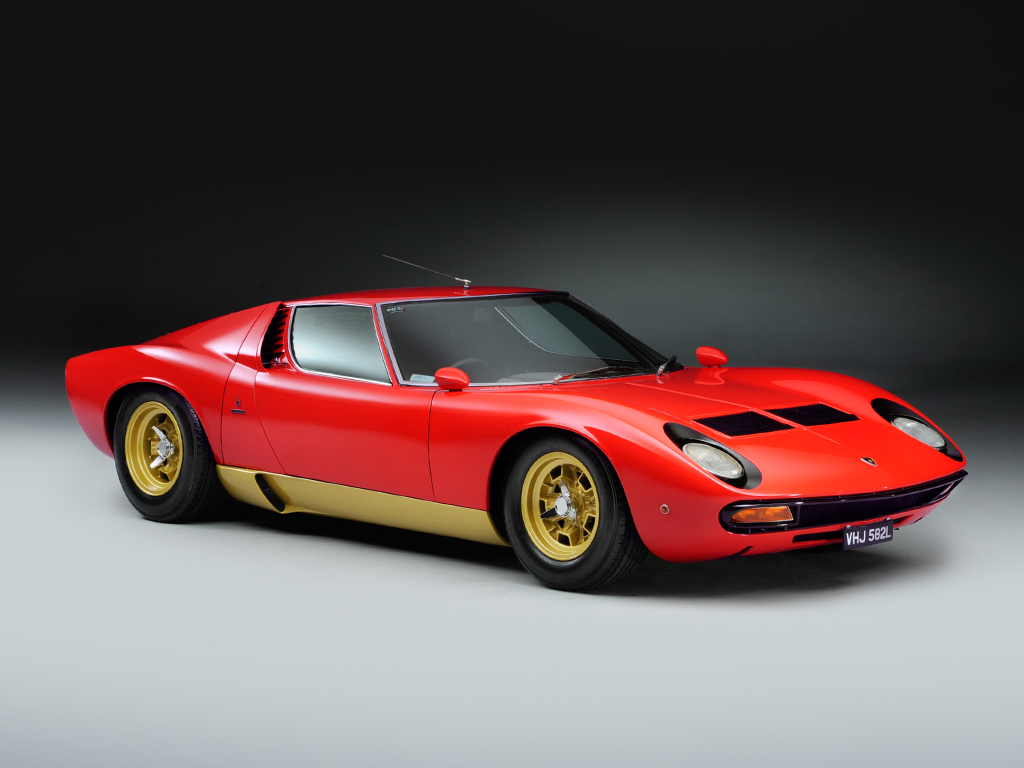 1972 lamborghini miura sv classic driver market. Black Bedroom Furniture Sets. Home Design Ideas