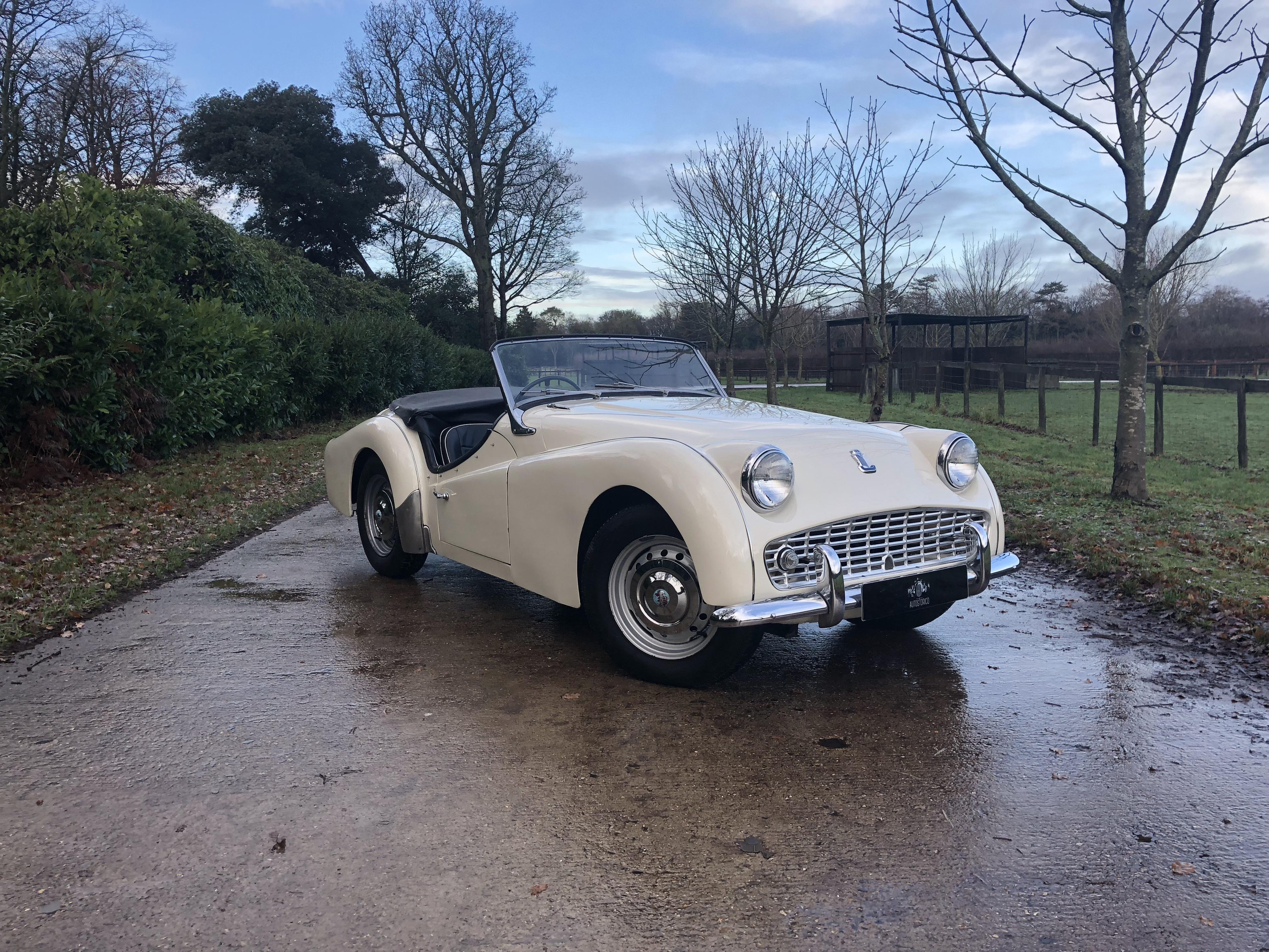 1959 Triumph Tr3 A Voiture De Collection à Vendre