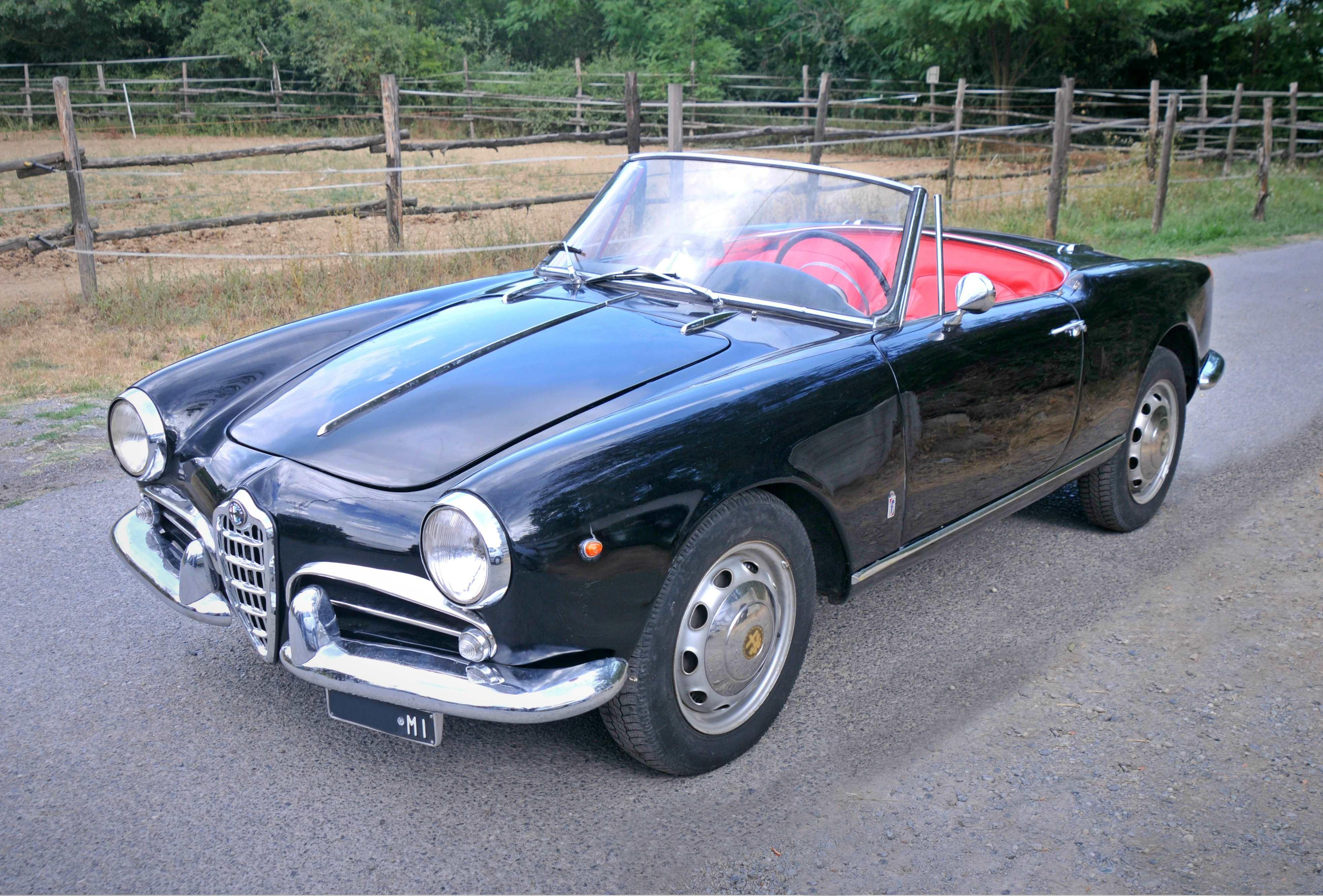 1961 alfa romeo giulietta - spider iii series | classic driver market