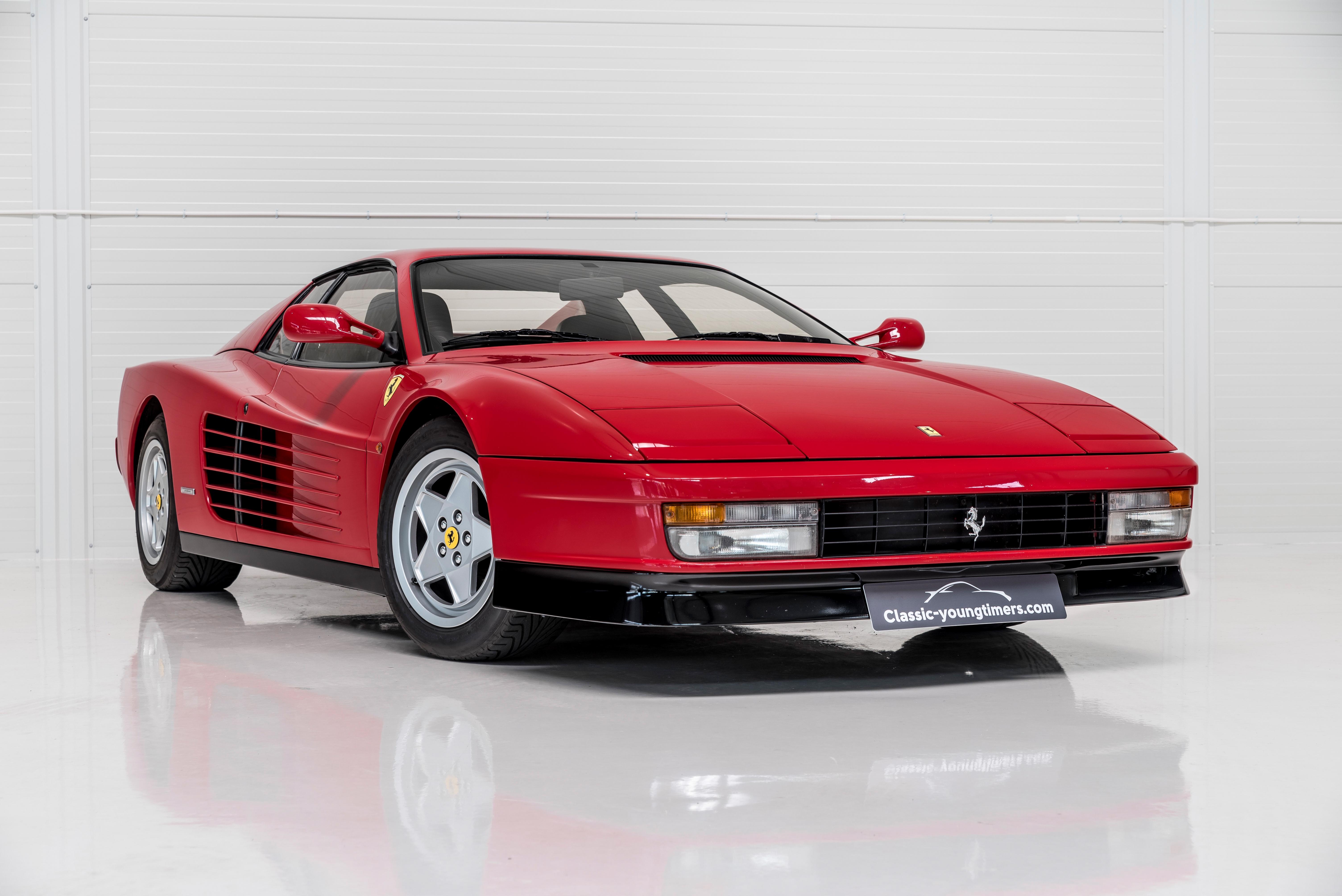 1991 Ferrari Testarossa Mint Condition Classic Driver Market