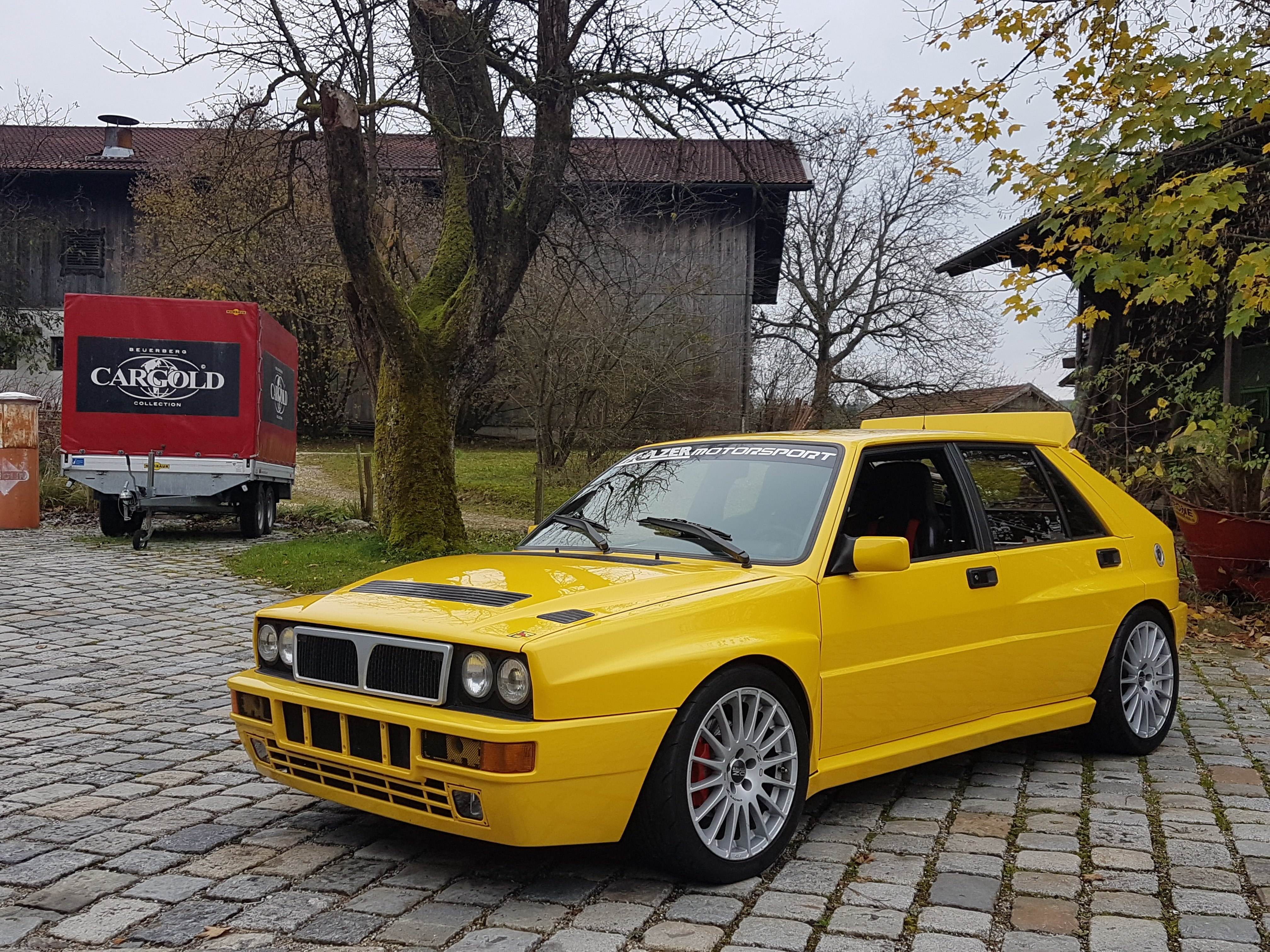 Could you tame the Lancia Hyena?   Classic Driver Magazine