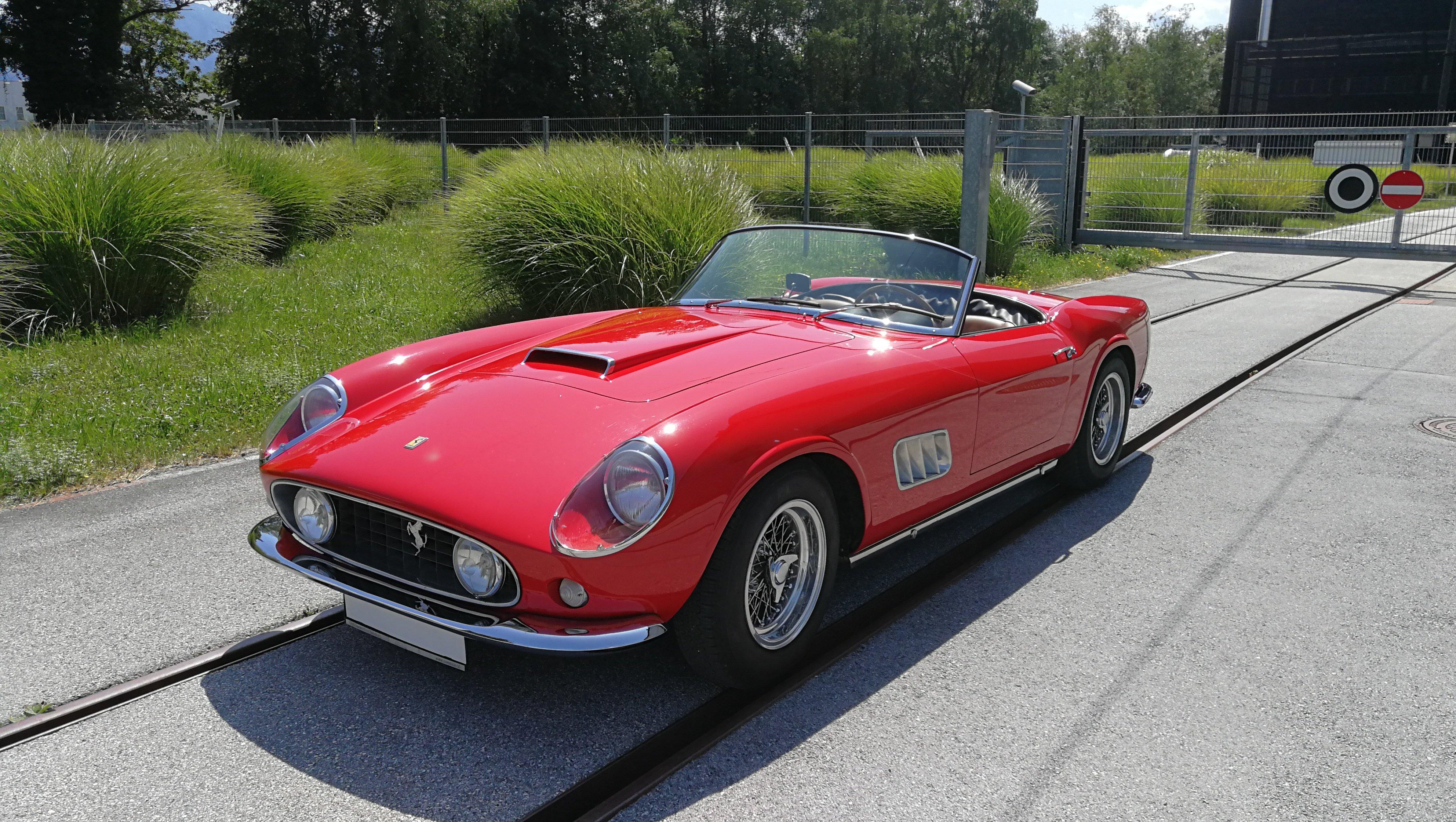 1958 Ferrari 250 Gt Lwb California Spyder Rebodied Oldtimer Zu Verkaufen
