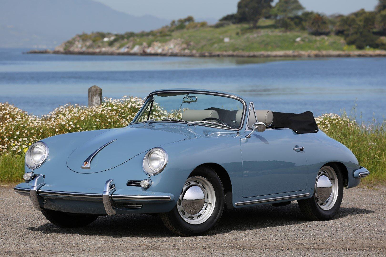 1960 Porsche 356 B Cabriolet Vintage Car For Sale
