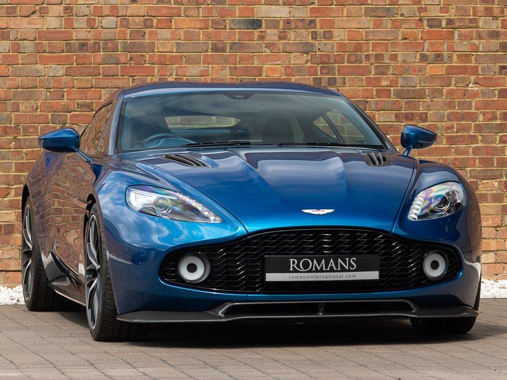 2017 Aston Martin Vanquish Zagato Coupe Classic Driver Market