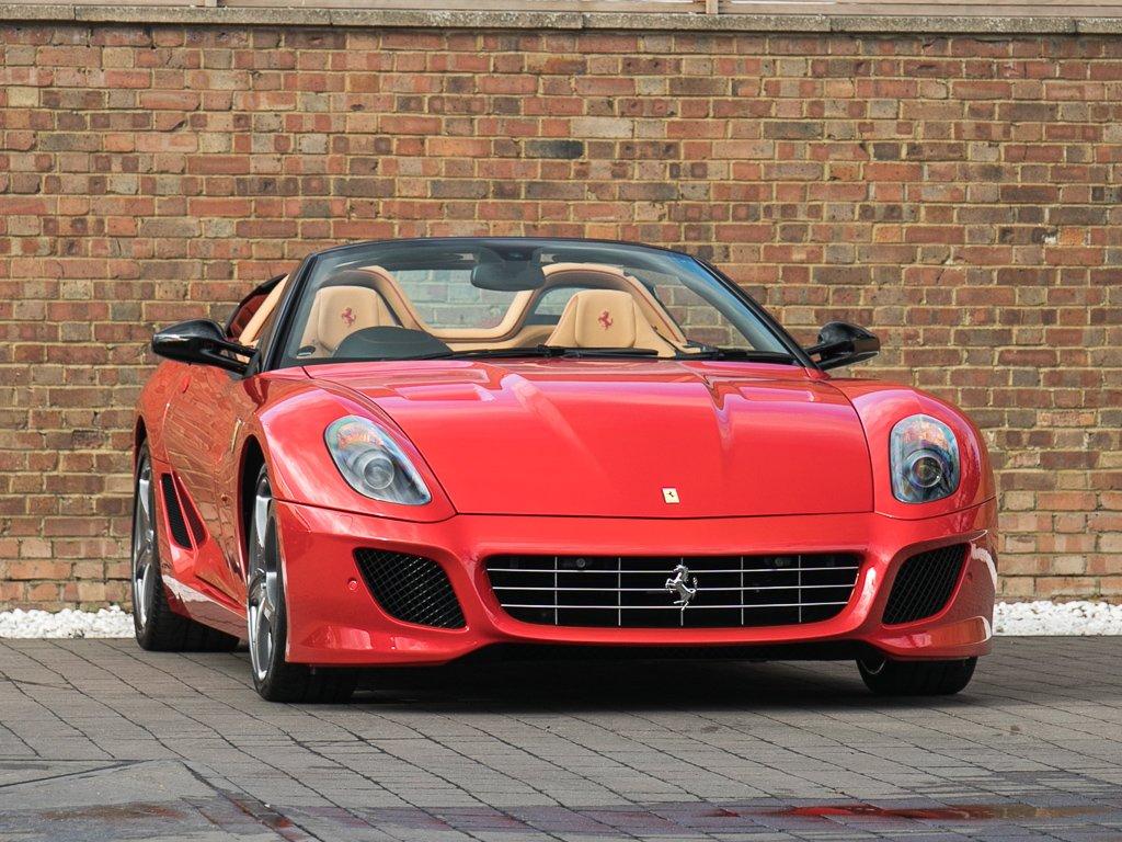 2012 Ferrari 599 Sa Aperta Classic Driver Market