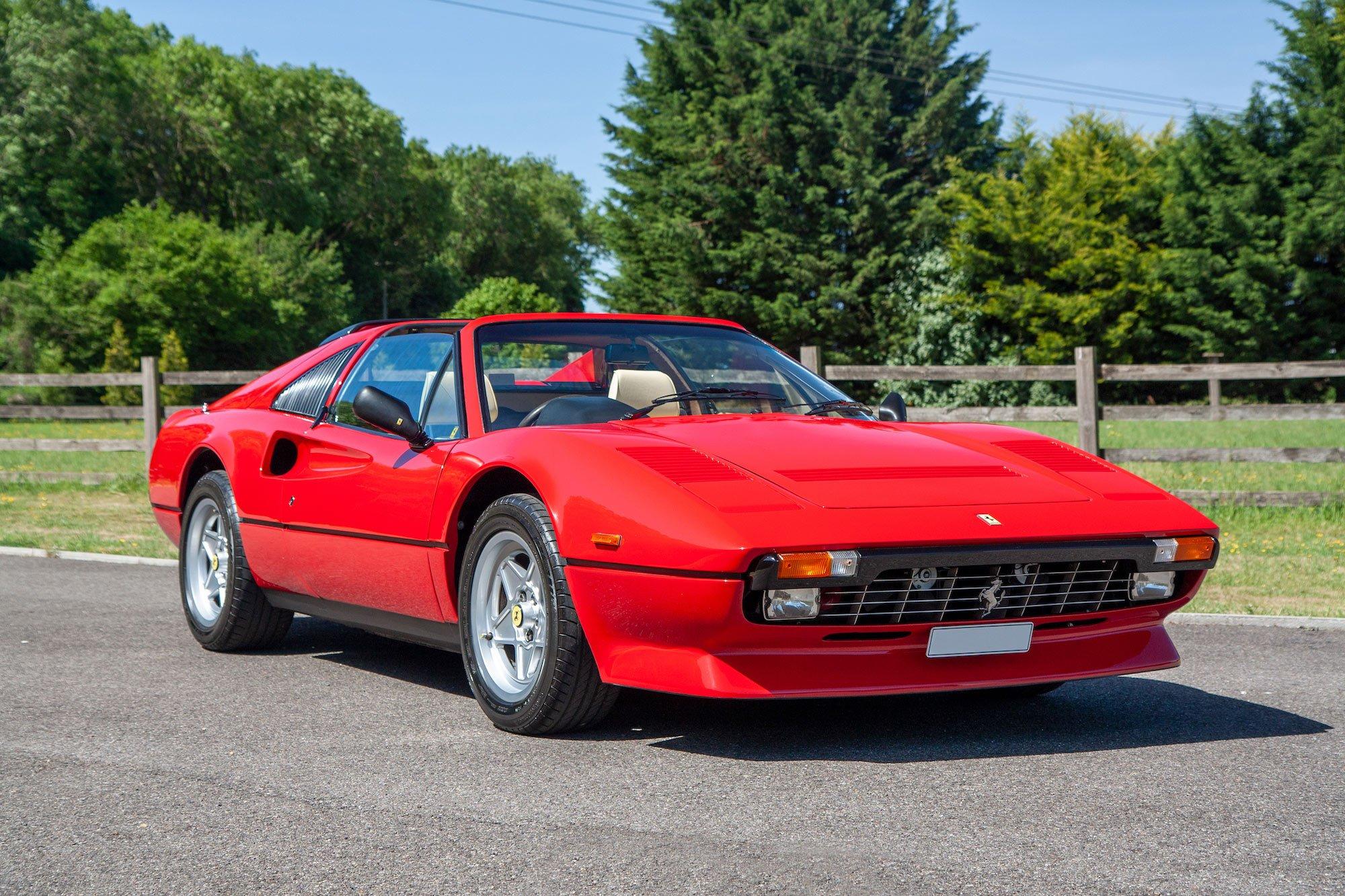 1984 Ferrari 308 Gts Quattrovalvole Oldtimer Zu Verkaufen