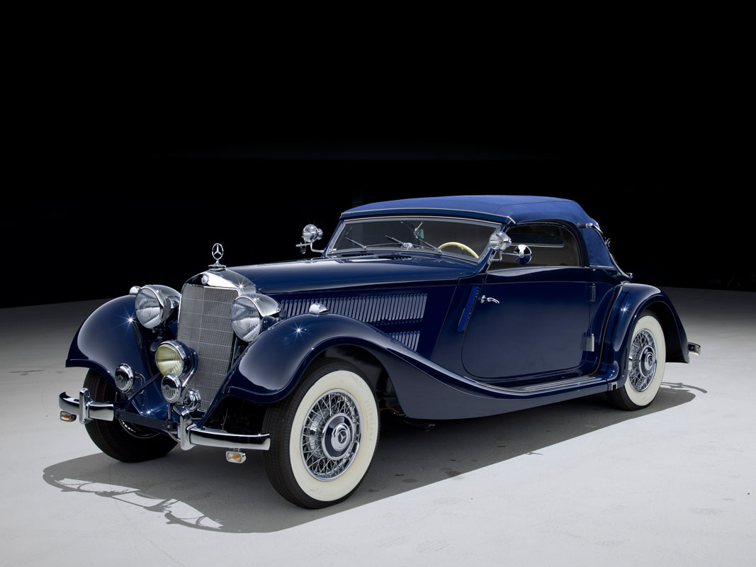 1938 mercedes benz pre war 320 cabriolet a classic for Mercedes benz 1900 model