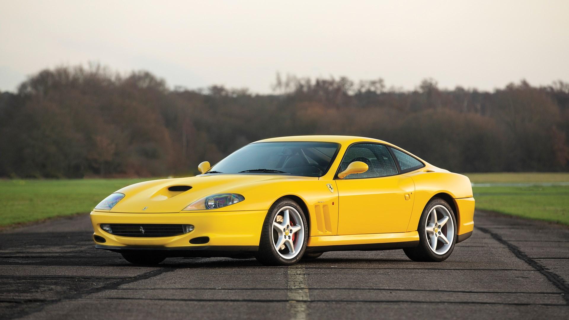 1999 Ferrari 550 Maranello Wsr Classic Driver Market