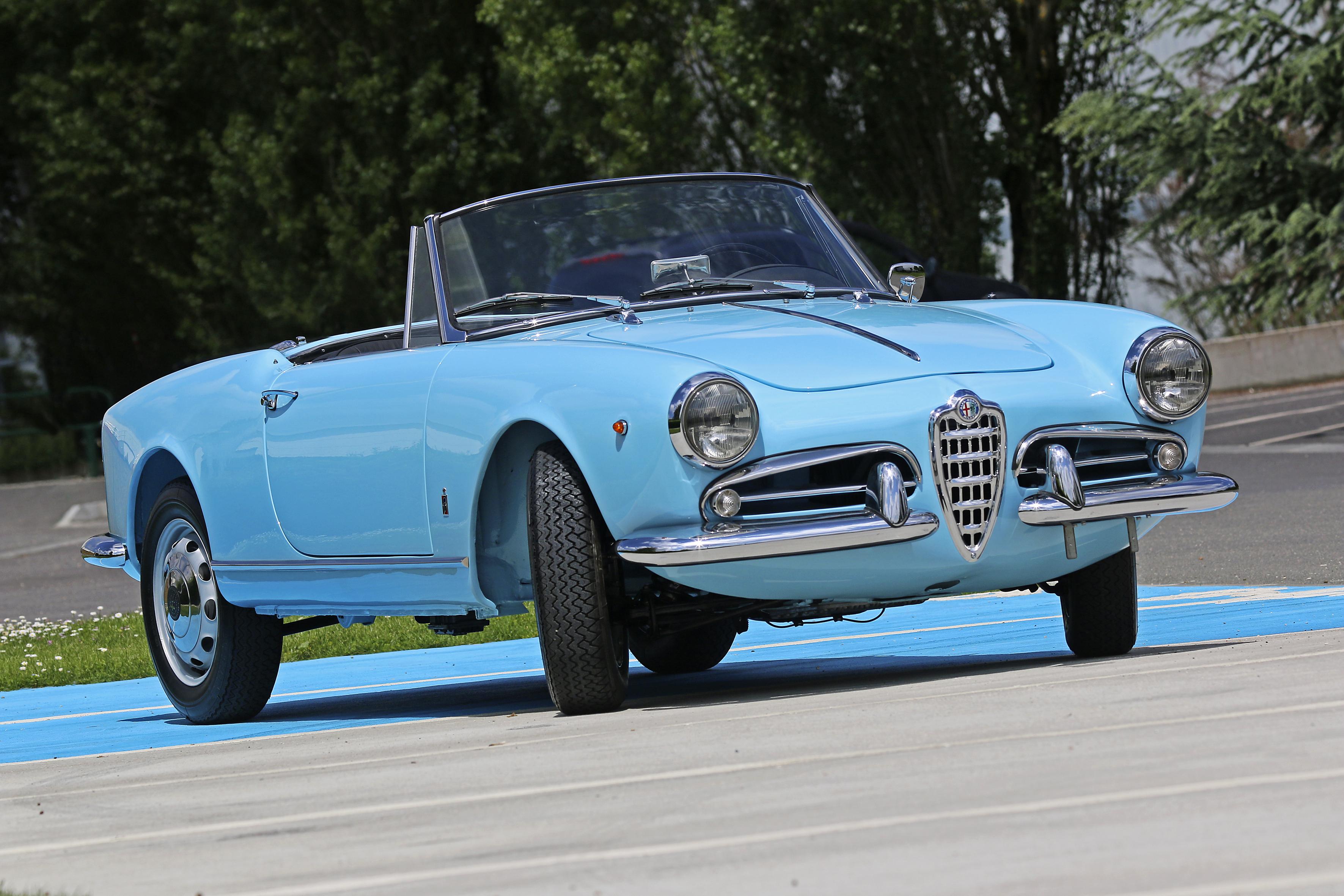 1960 Alfa Romeo Giulietta Spider Veloce Classic Driver Market