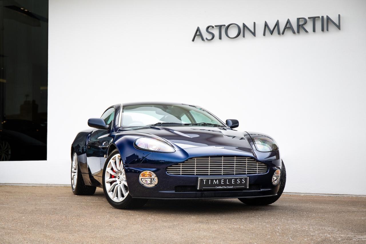 2002 Aston Martin Vanquish Manual Transmission Classic Driver Market