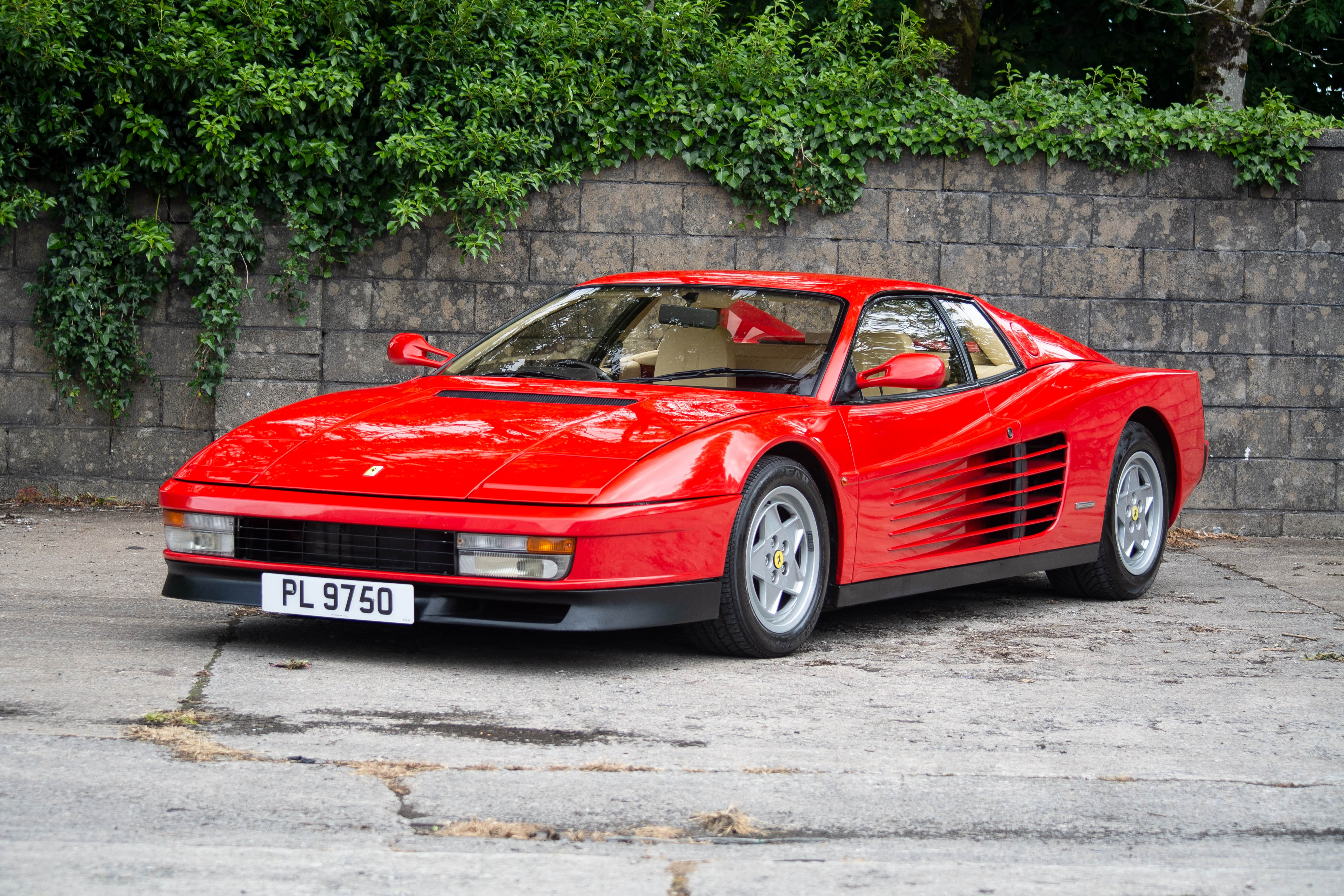1991 Ferrari Testarossa Classic Driver Market