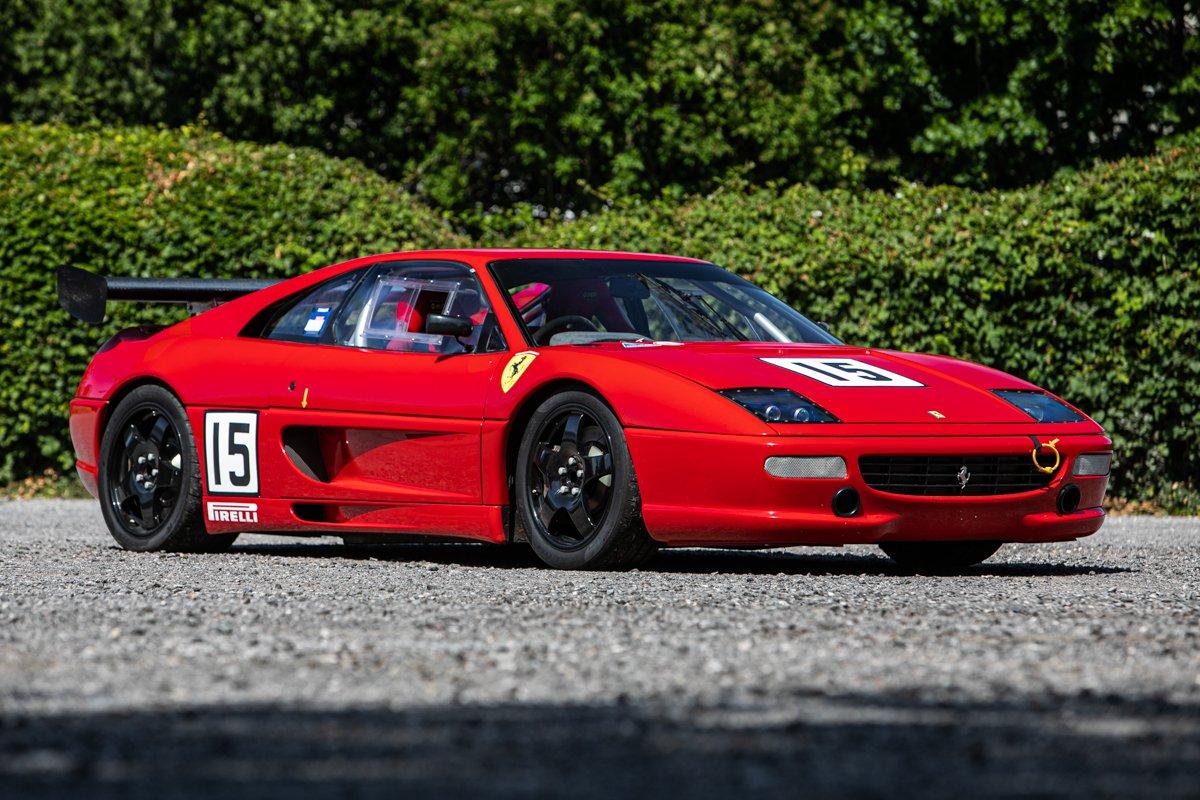1995 Ferrari F355 Berlinetta To Challenge Specification Classic Driver Market