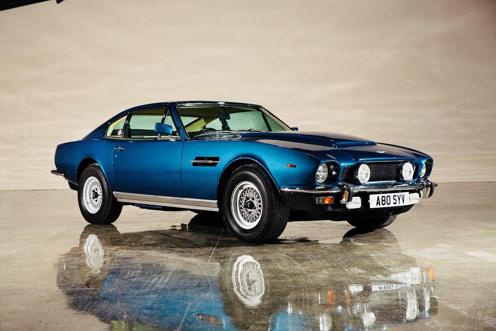1984 Aston Martin V8 Series 4 Oscar India Classic Driver Market