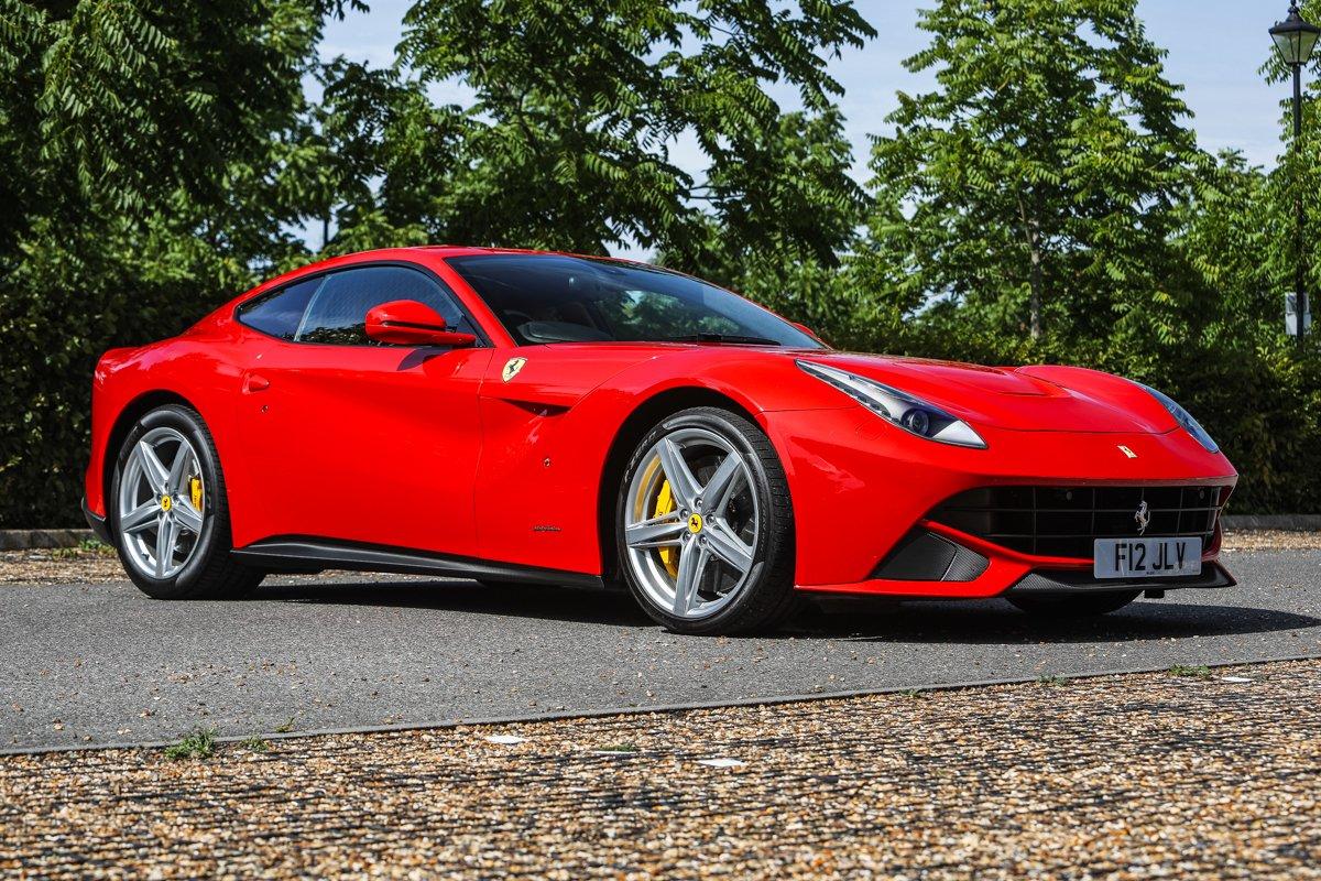 2014 Ferrari F12 Berlinetta Classic Driver Market