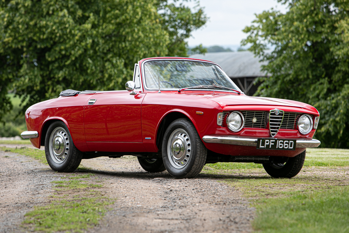 1966 Alfa Romeo Giulia Gtc Classic Driver Market