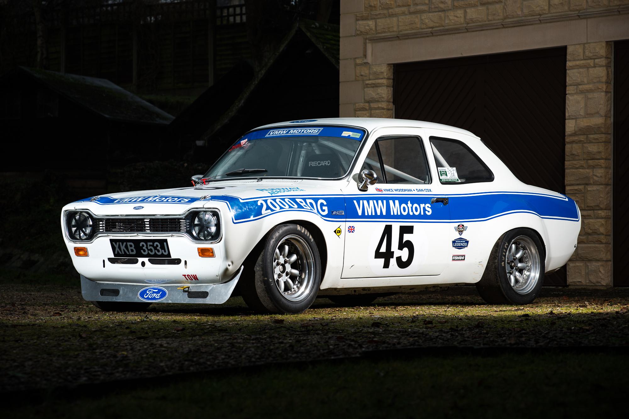 1970 Ford Escort Mki Rs1600 Fia Race Car Classic Driver Market Police