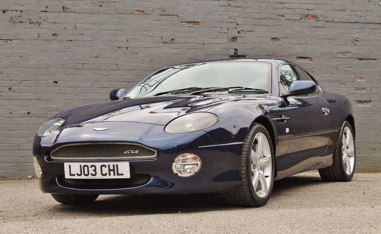 2003 Aston Martin Db7 Gta Classic Driver Market