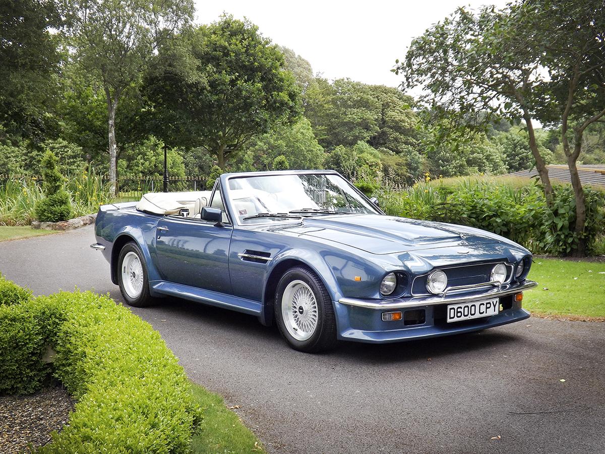 1987 Aston Martin Vantage Volante X Pack Classic Driver Market