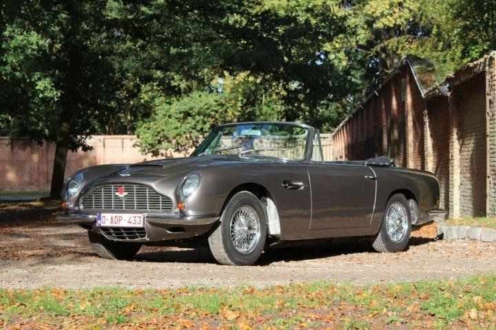 1969 Aston Martin Db6 Vantage Volante Classic Driver Market