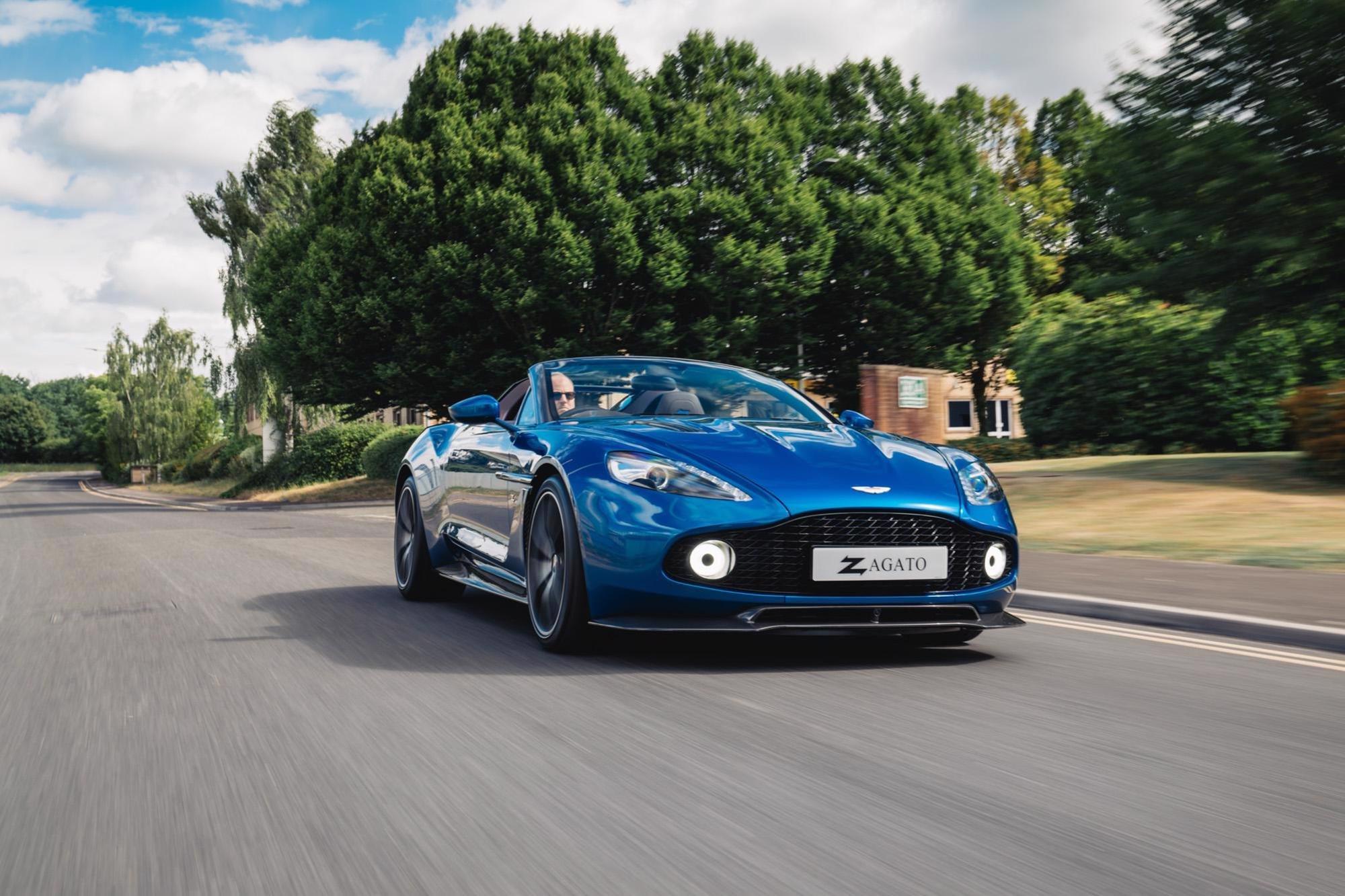 2018 Aston Martin Vanquish Zagato Speedster Classic Driver Market