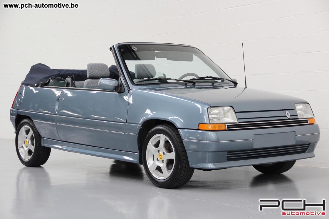 1990 renault 5 super 5 gts cabriolet by ebs classic driver market. Black Bedroom Furniture Sets. Home Design Ideas