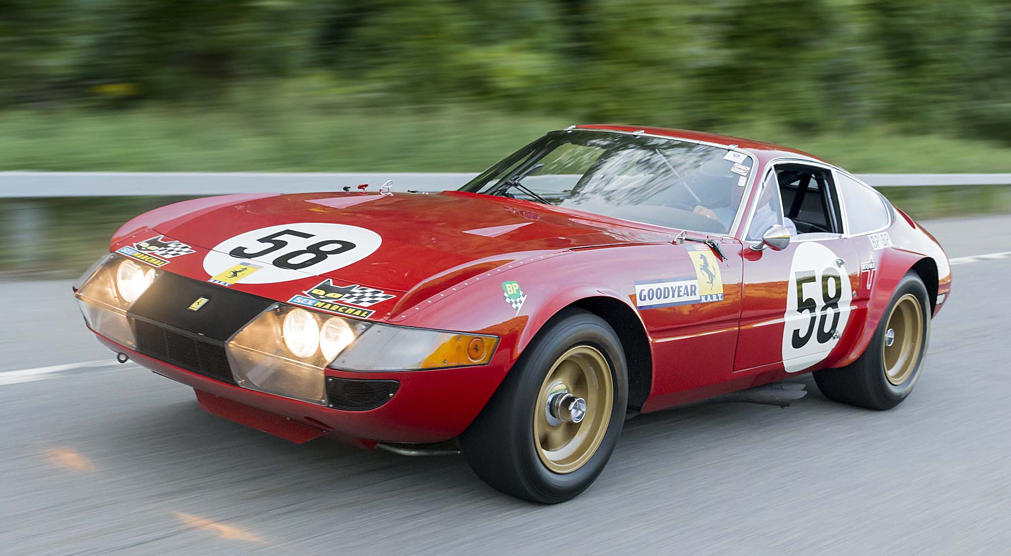 Used Car Auctions >> 1969 Ferrari 365 GTB/4 'Daytona' - N.A.R.T. COMPETIZIONE | Classic Driver Market