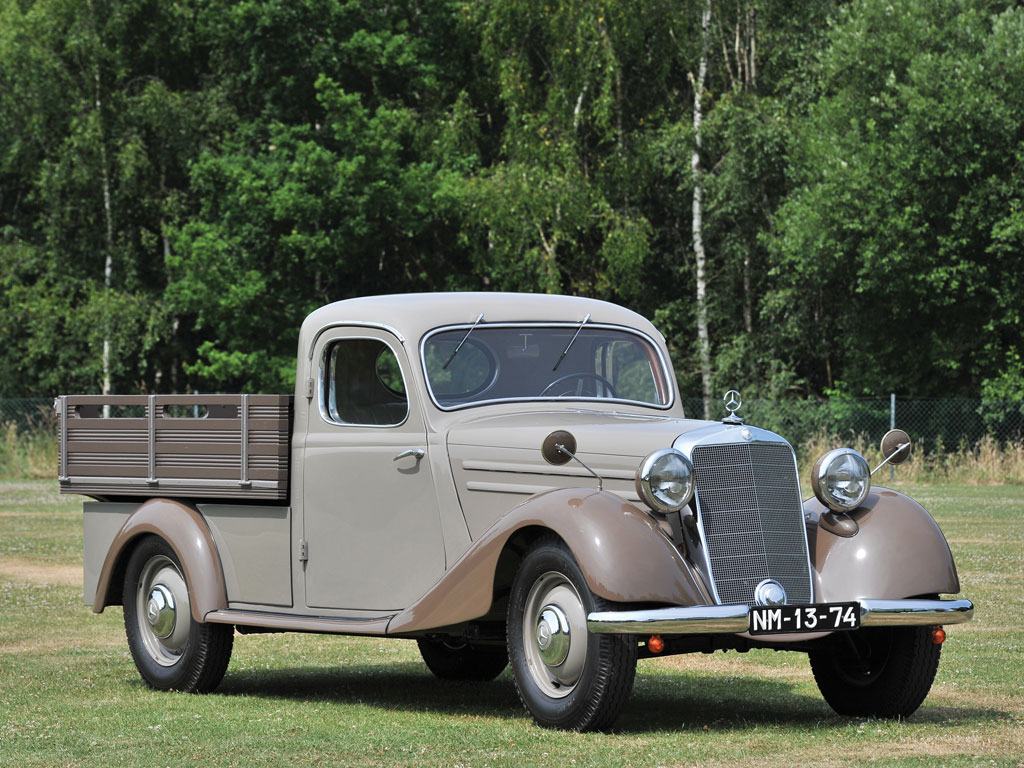 1952 mercedes benz 170 da pick up classic driver market. Black Bedroom Furniture Sets. Home Design Ideas