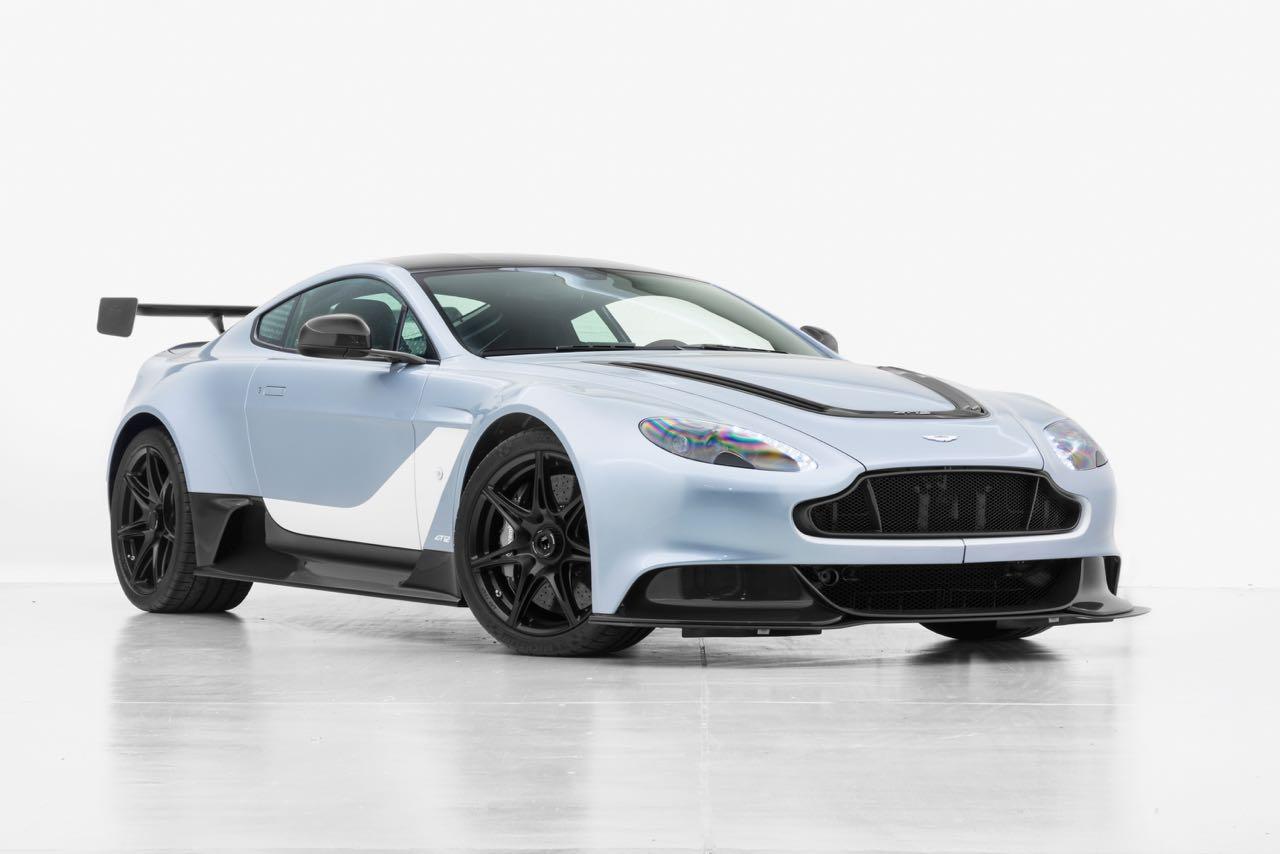 2018 Aston Martin Vantage Gt12 Aston Martin Gt12 Nr 25 100 New Car In Skyfall Silver Classic Driver Market