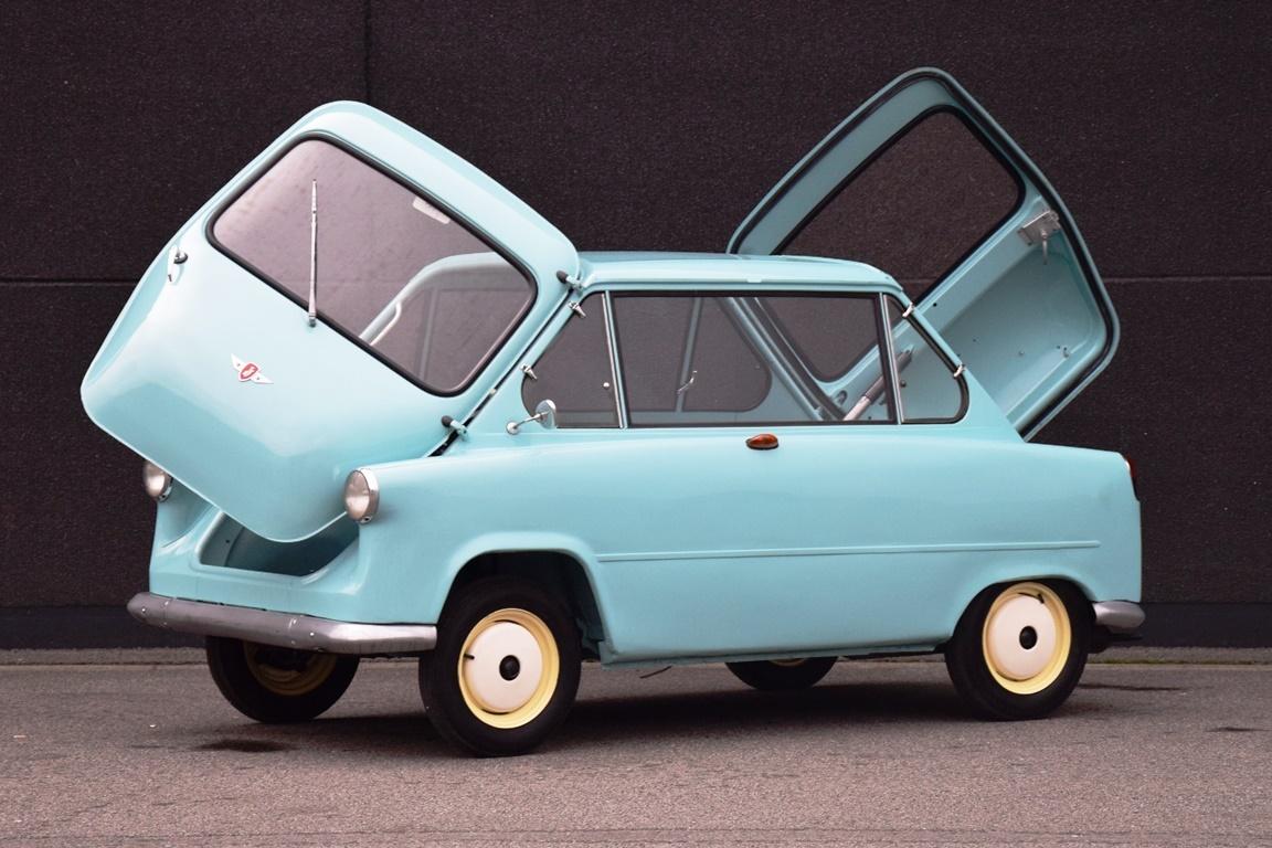 1958 Zündapp - Janus 250. Extremely rare microcar. | Classic ...