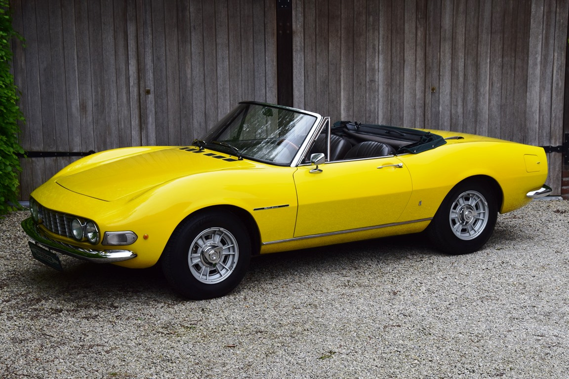 1967 Fiat Dino 2000 Spider The 69th Example Ever Built Classic Driver Market