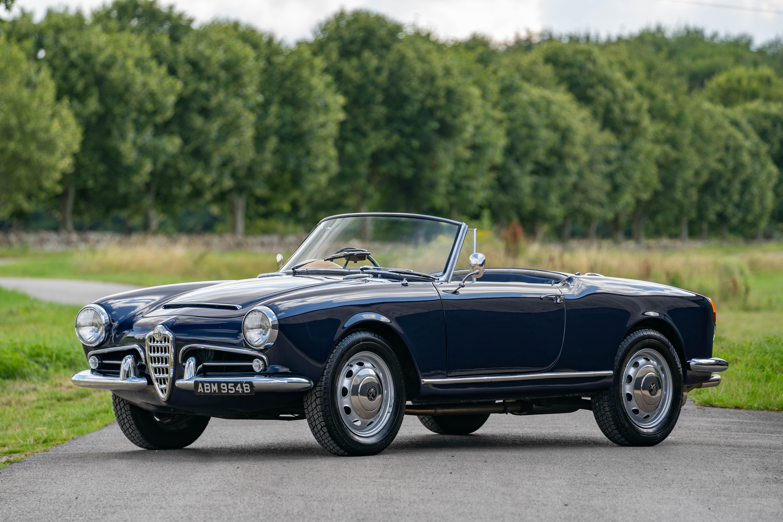 1964 Alfa Romeo Giulia Spider Vintage Car For Sale