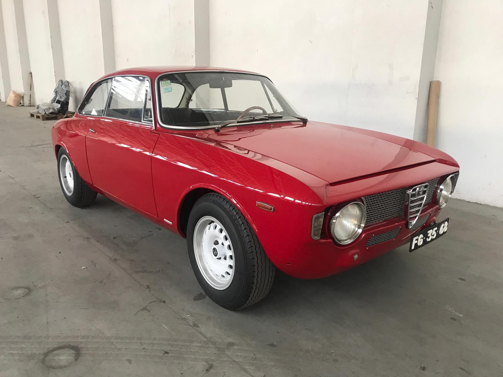 1966 Alfa Romeo Gta Vintage Car For Sale