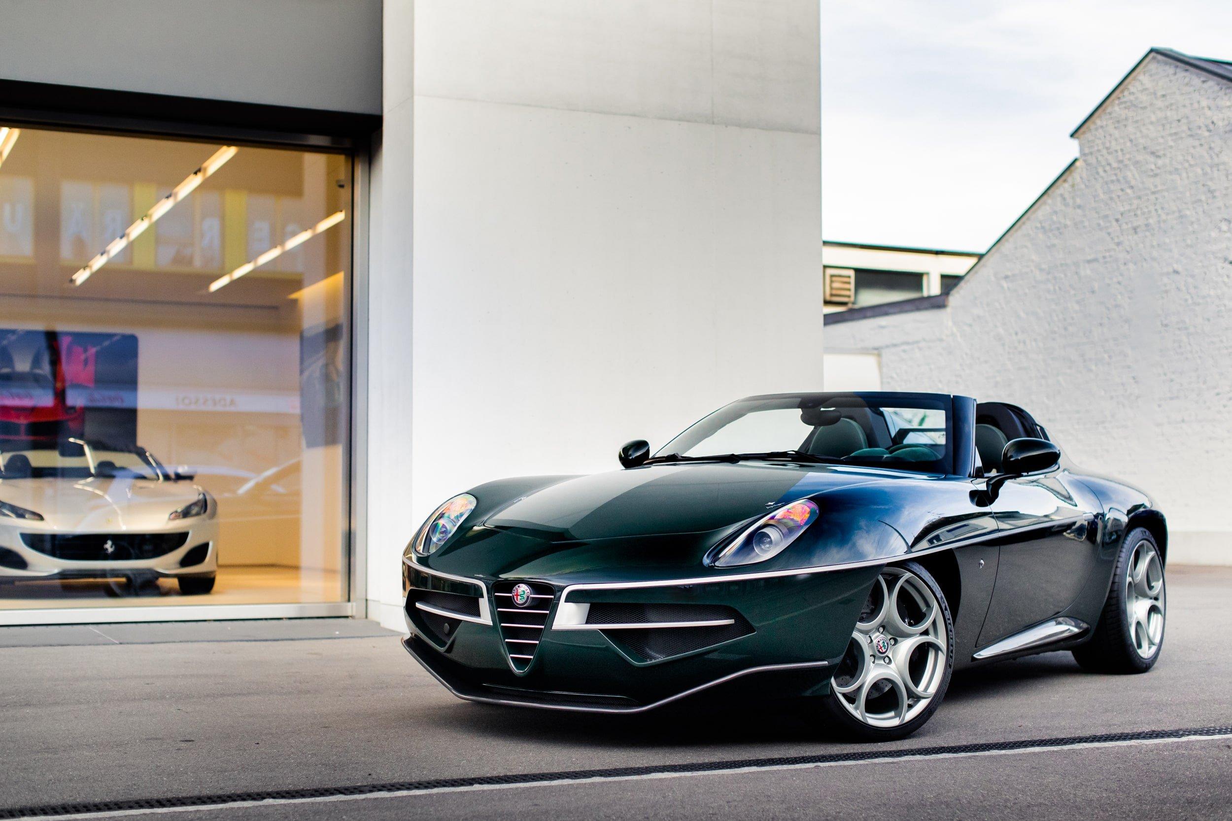 Alfa Romeo Disco Volante >> 2019 Alfa Romeo Disco Volante Spyder Classic Driver Market