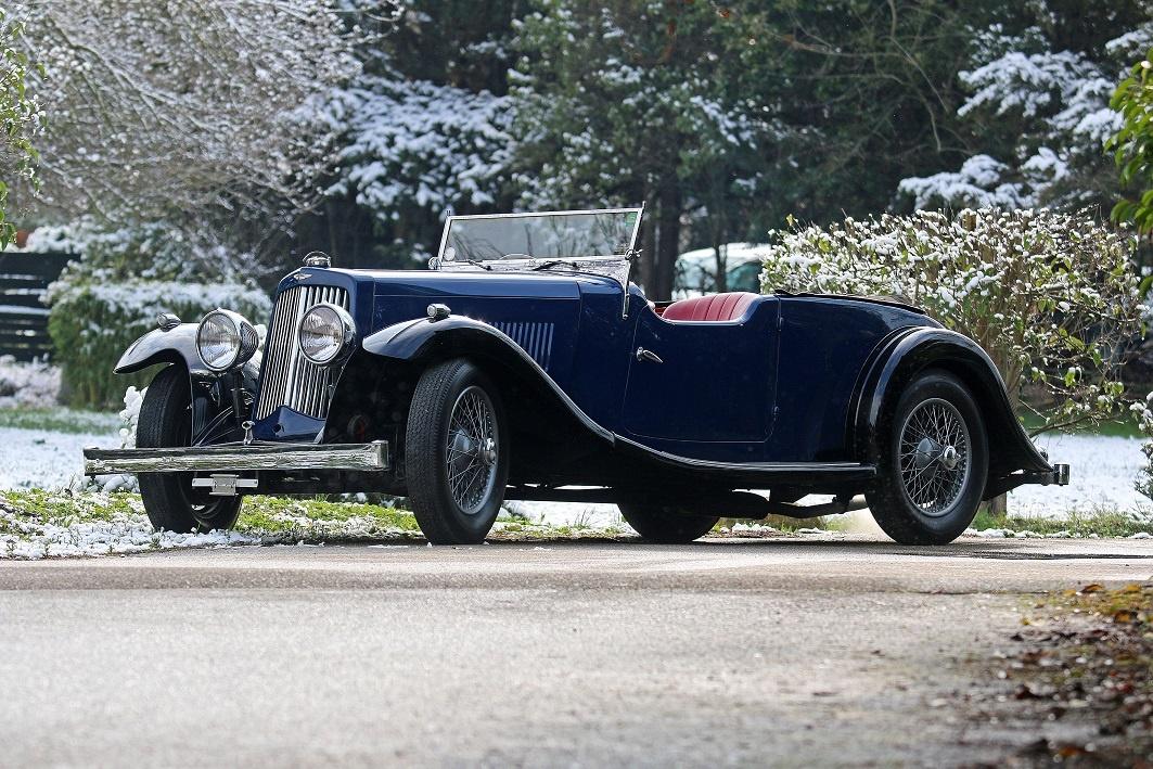 1937 aston martin 15/98 - long-chassis tourer | classic driver market