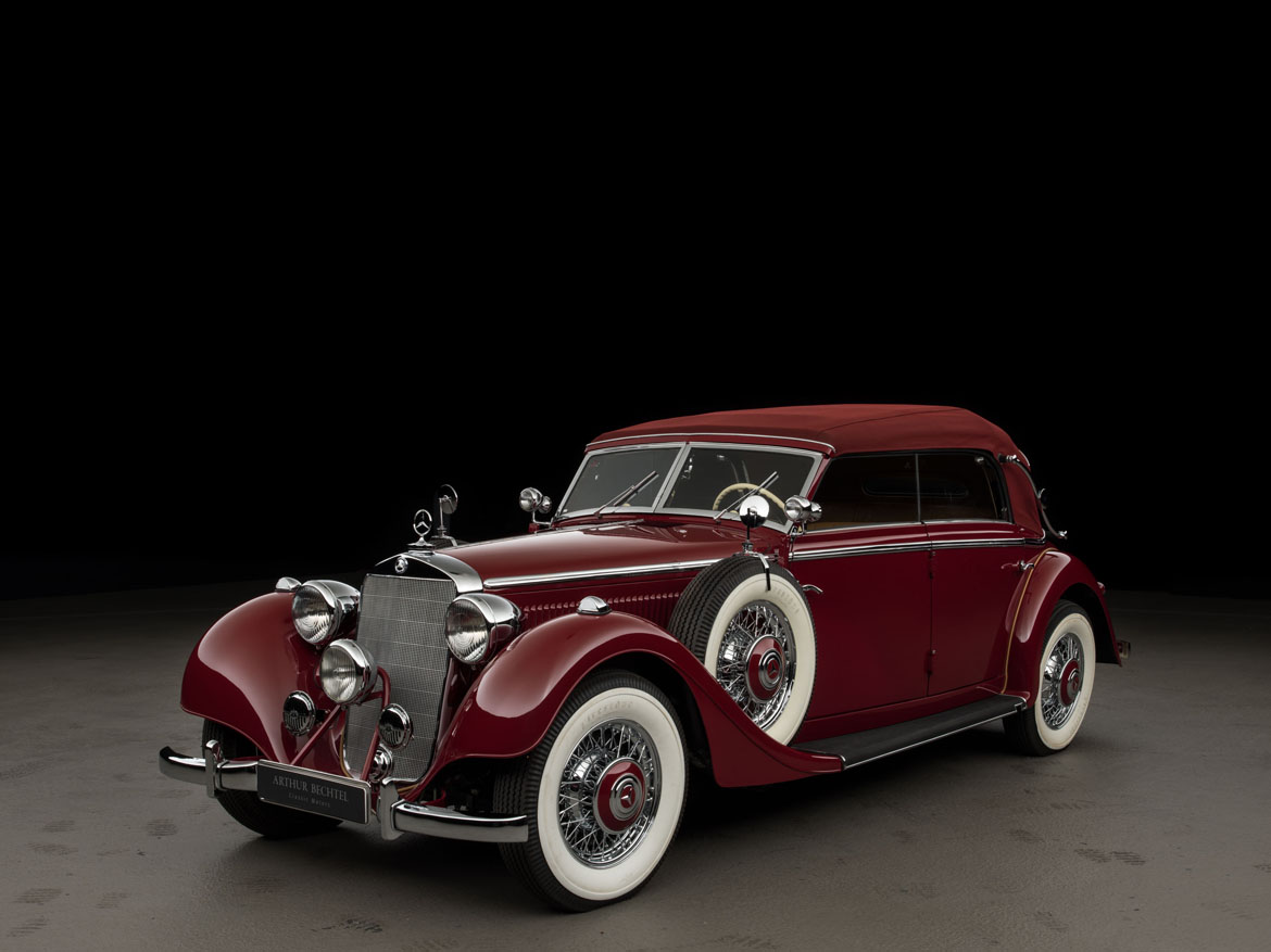 1938 mercedes benz typ 320 320 cabriolet d classic driver market. Black Bedroom Furniture Sets. Home Design Ideas