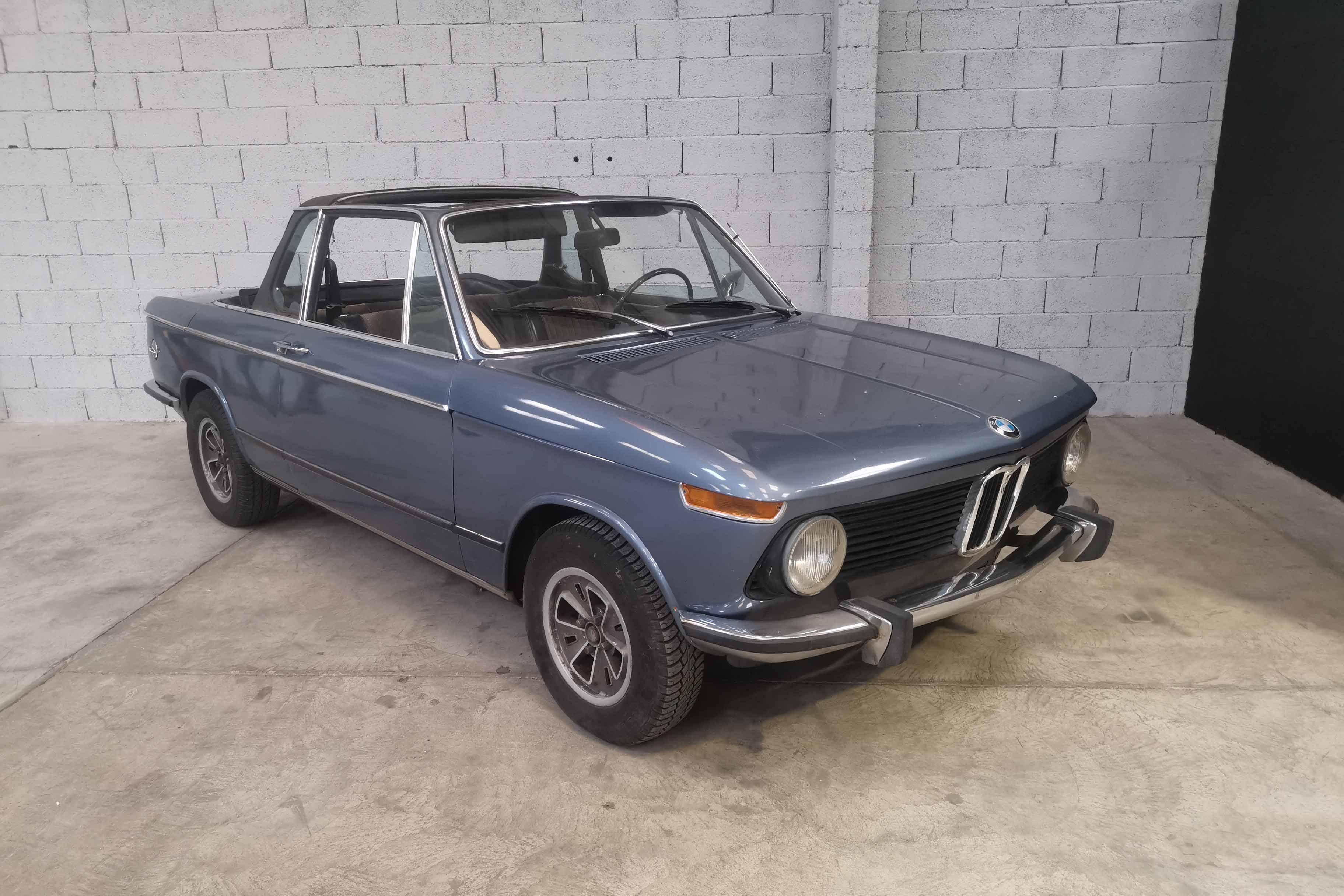 1973 Bmw 2002 Baur Convertible Classic Driver Market