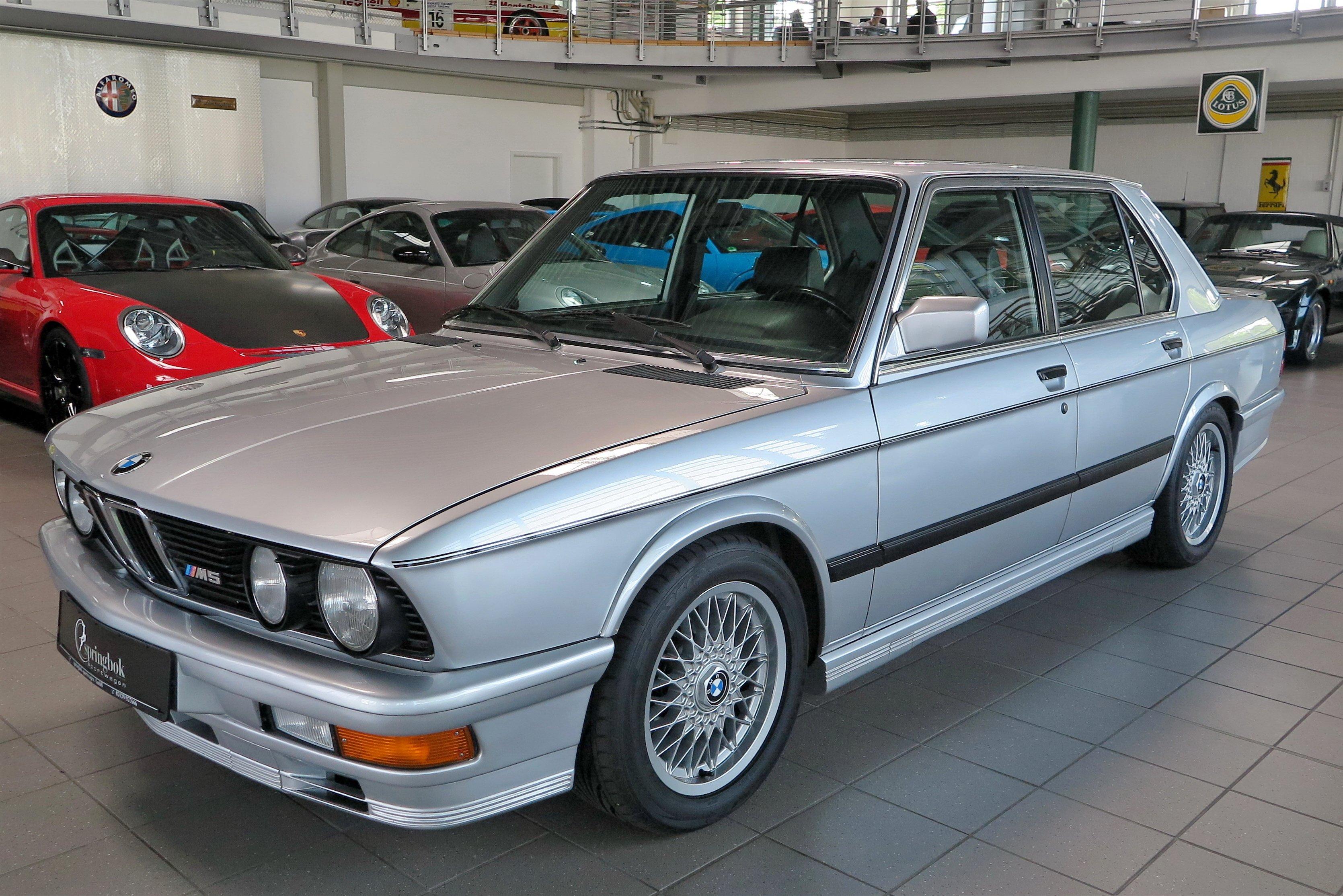 1987 Bmw M5 Classic Driver Market