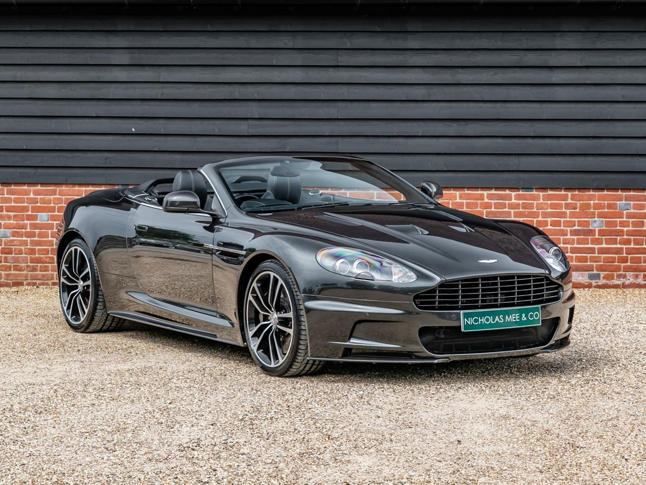 2012 Aston Martin Dbs Dbs Volante Carbon Edition Classic Driver Market