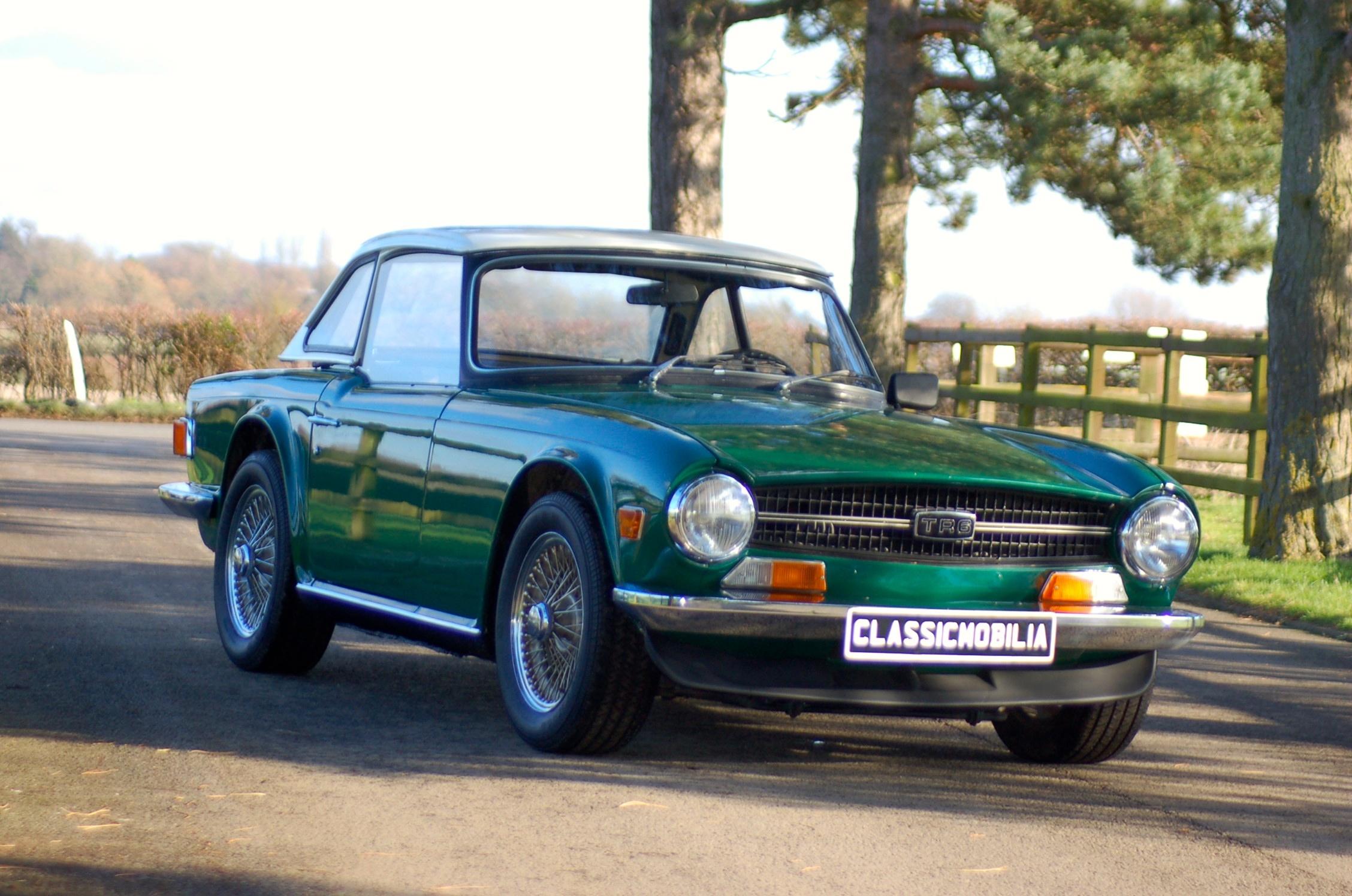 1969 Triumph Tr6 Voiture De Collection à Vendre