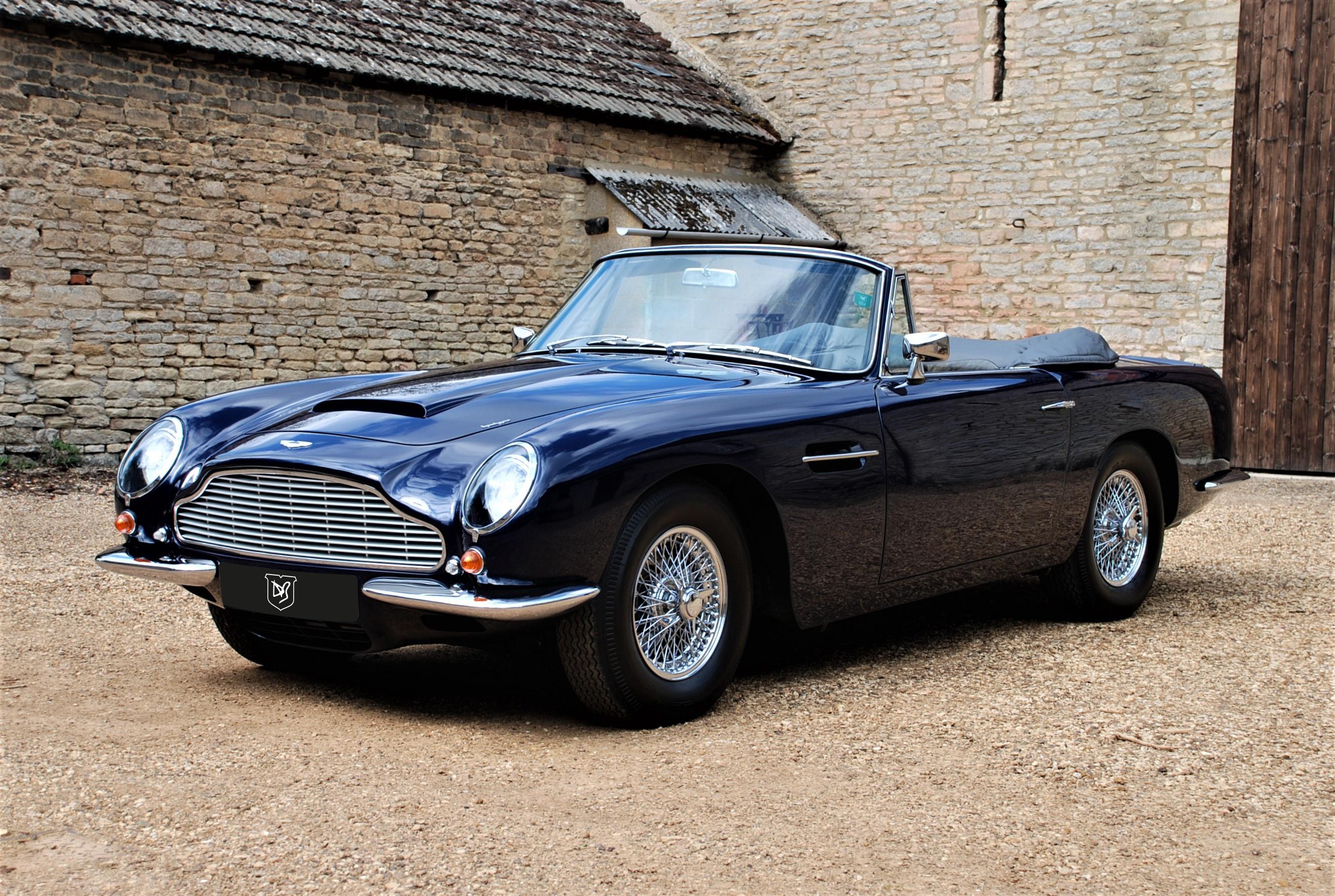 Aston Martin DB Volante Classic Driver Market - Aston martin volante