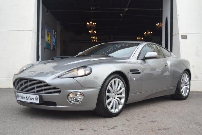 2002 Aston Martin Vanquish V12 6 0 Auto Classic Driver Market