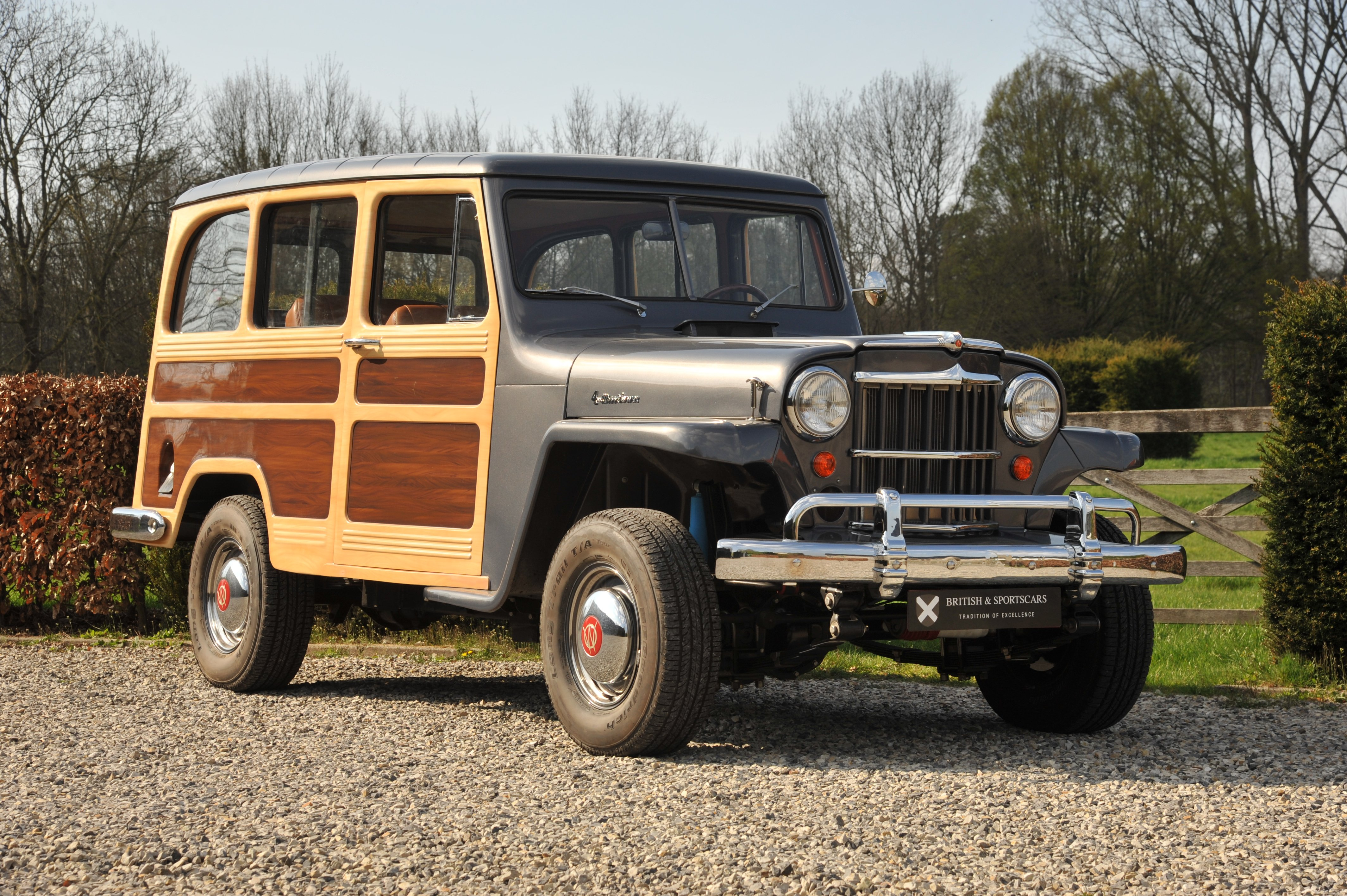 1960 Jeep Willy S Station Wagon Classic Driver Market