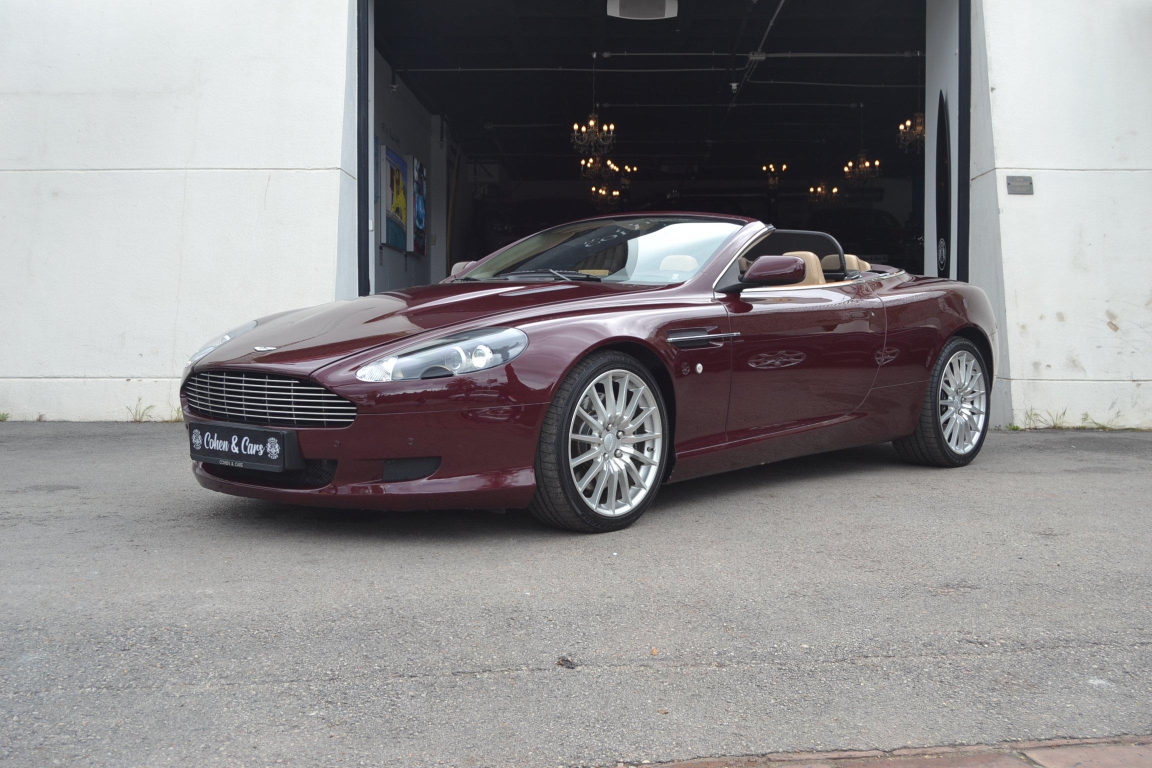 2008 Aston Martin Db9 Volante 5 9 V12 Auto Classic Driver Market