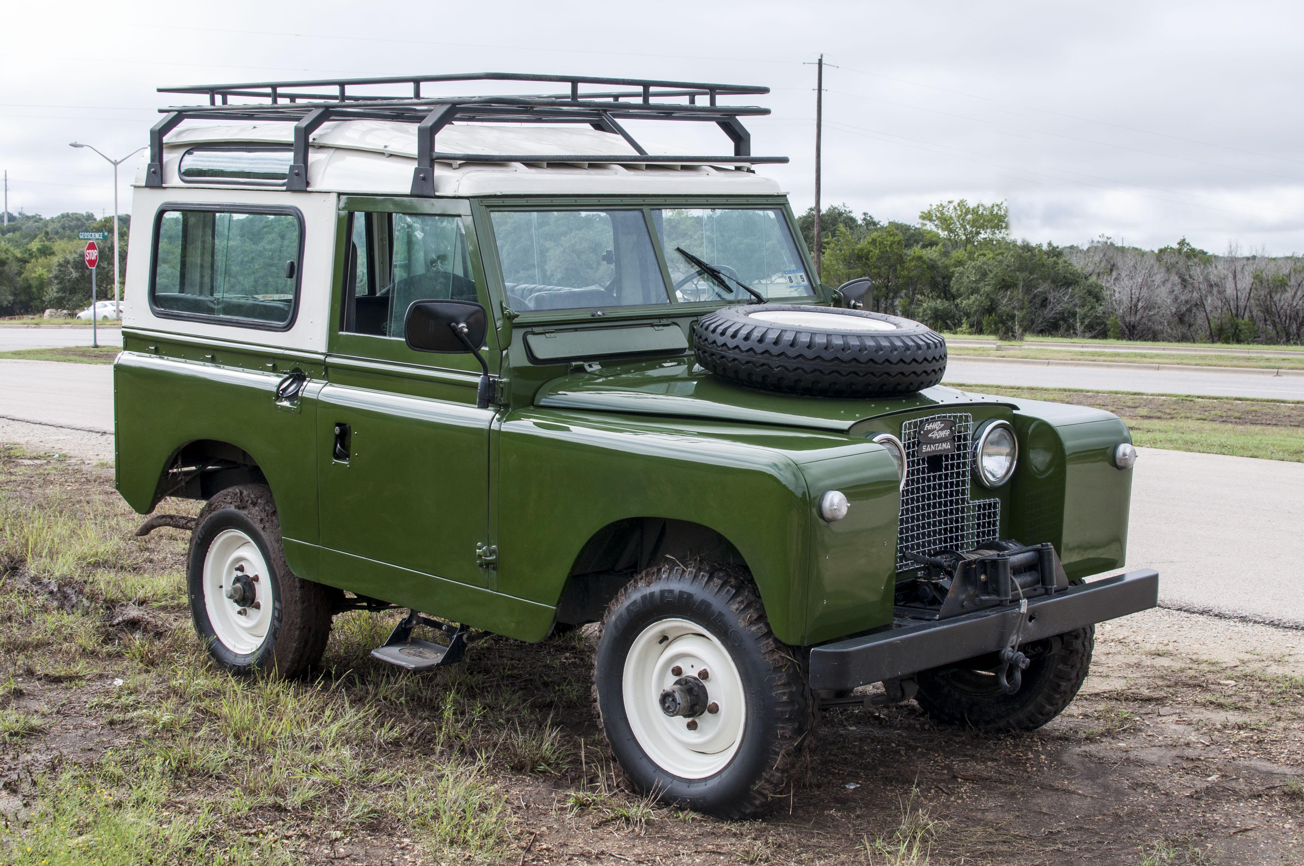 1963 Land Rover Series 1 3 Santana Iia Classic
