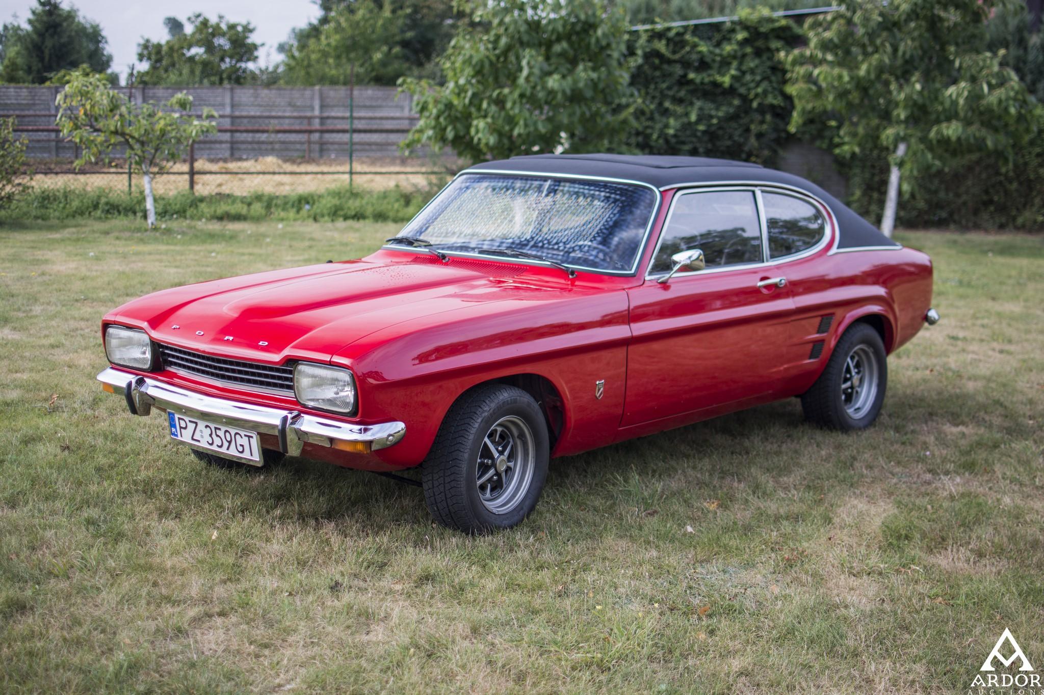 1973 ford capri 1600 gt classic driver market