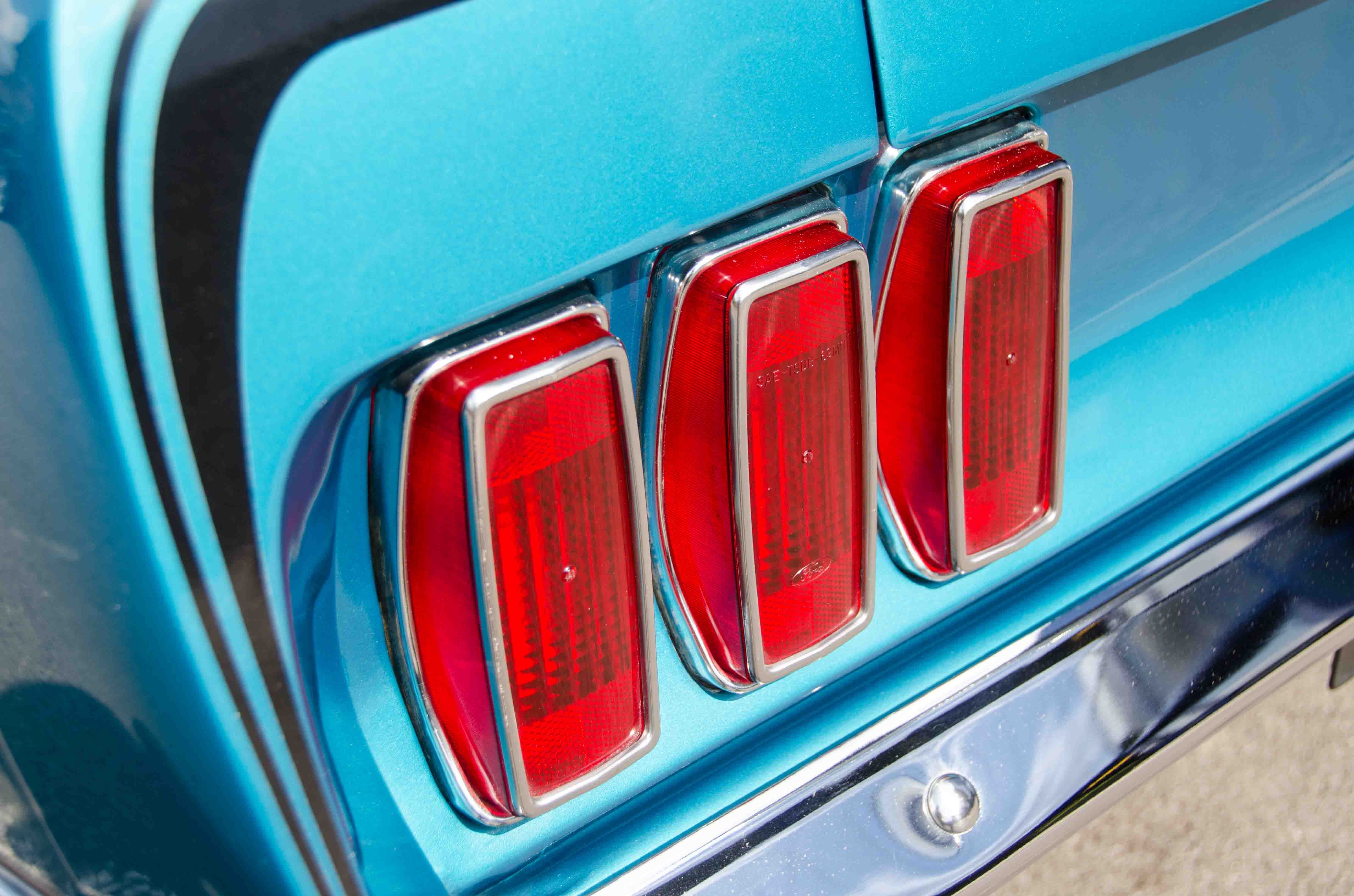1969 Ford Mustang Voiture De Collection Vendre Mach 1 Gulfstream Aqua