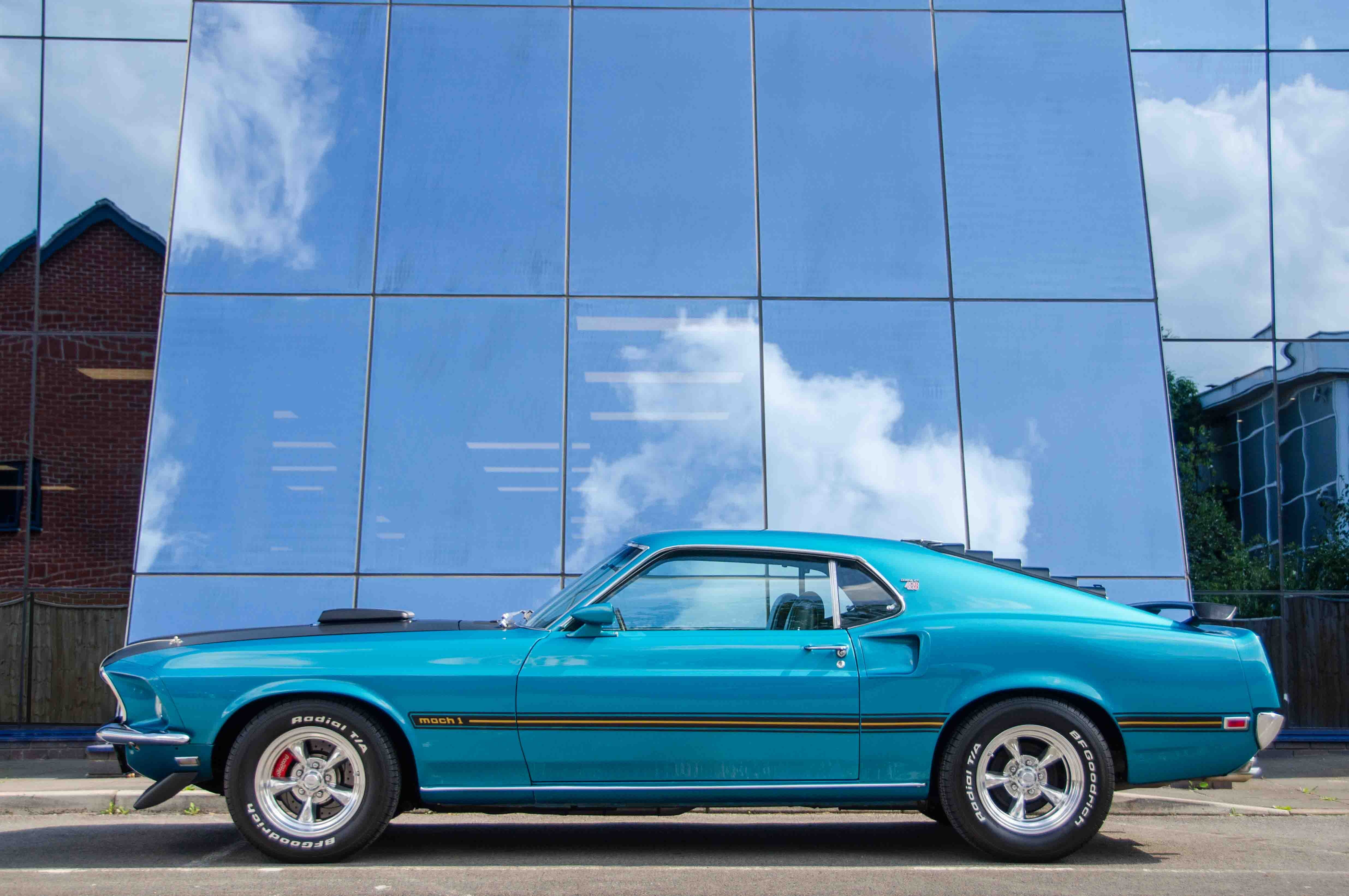 1969 ford mustang 428 cobrajet mach 1 classic driver market